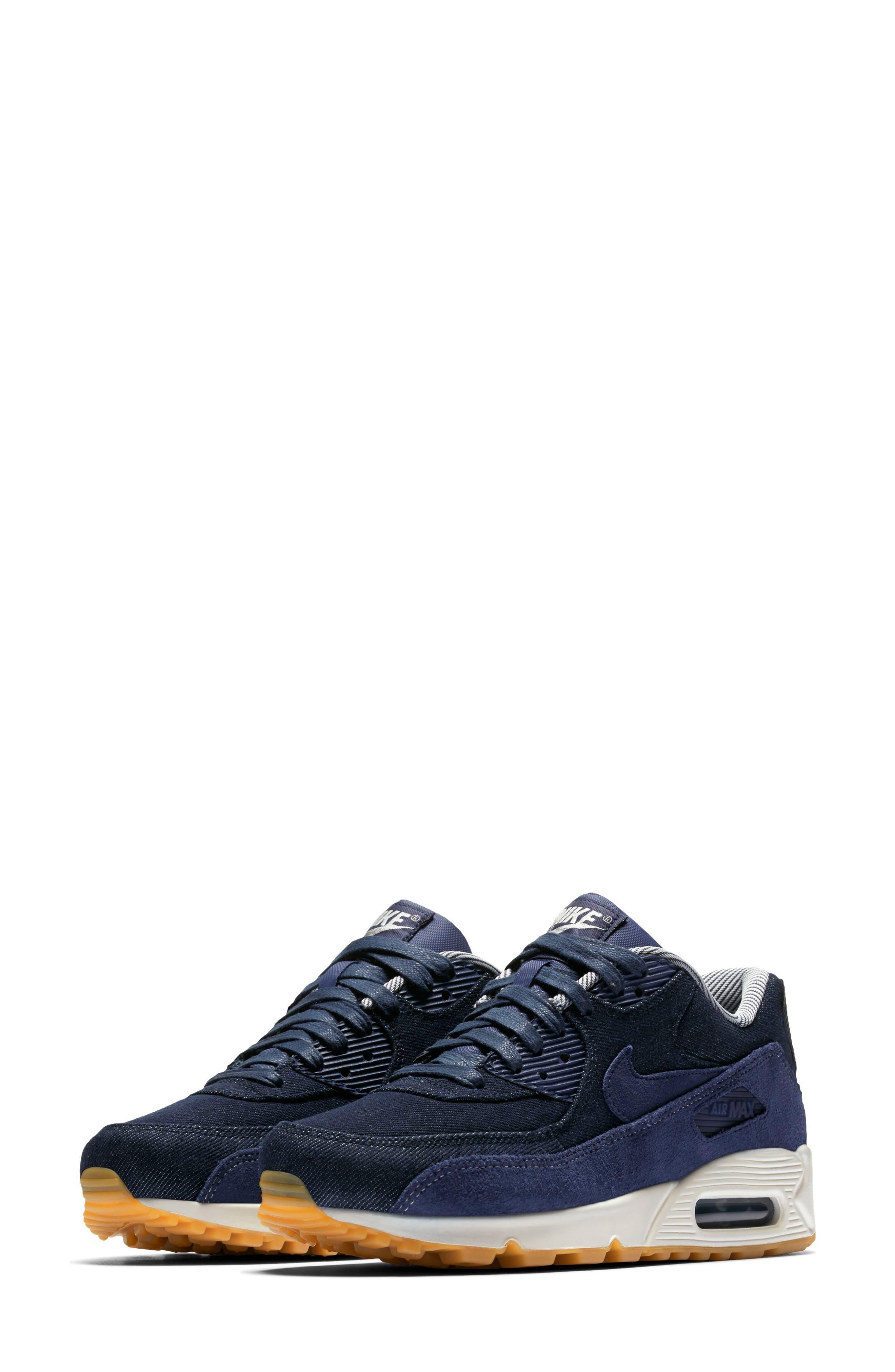 Air Max 90 SE Sneaker,                             Main thumbnail 7, color,