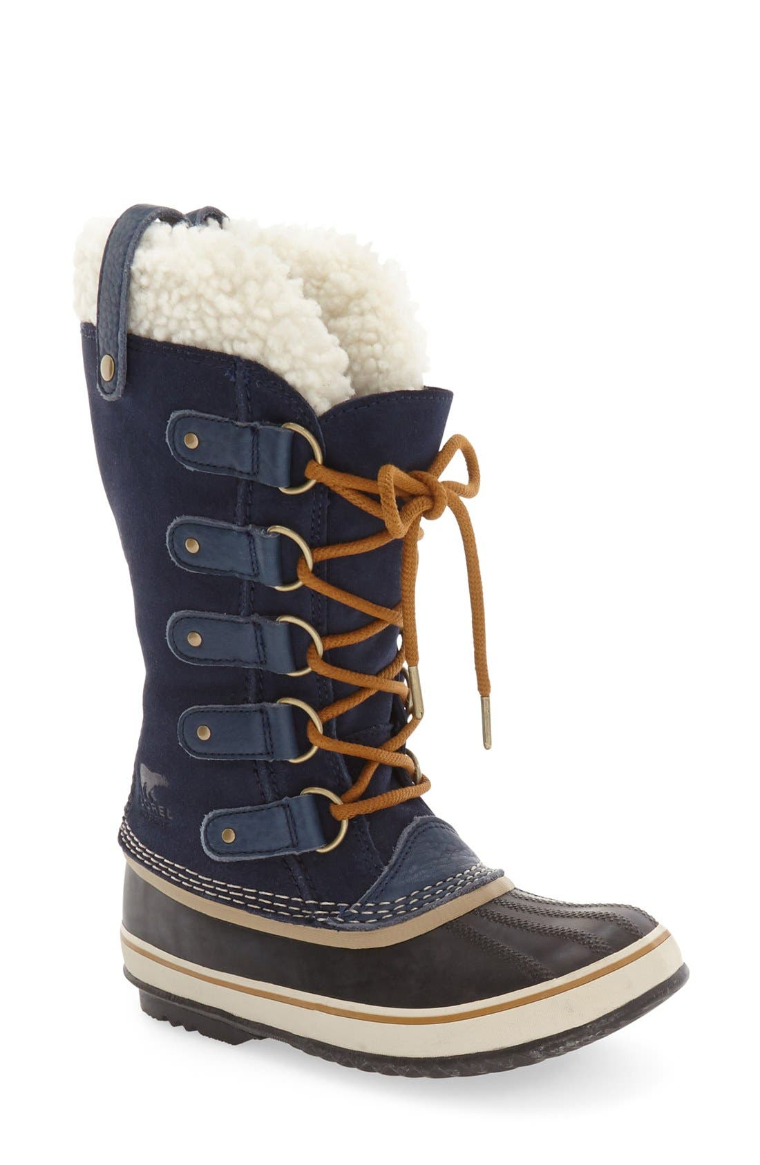 Joan of Arctic Genuine Shearling Waterproof Boot,                             Main thumbnail 3, color,