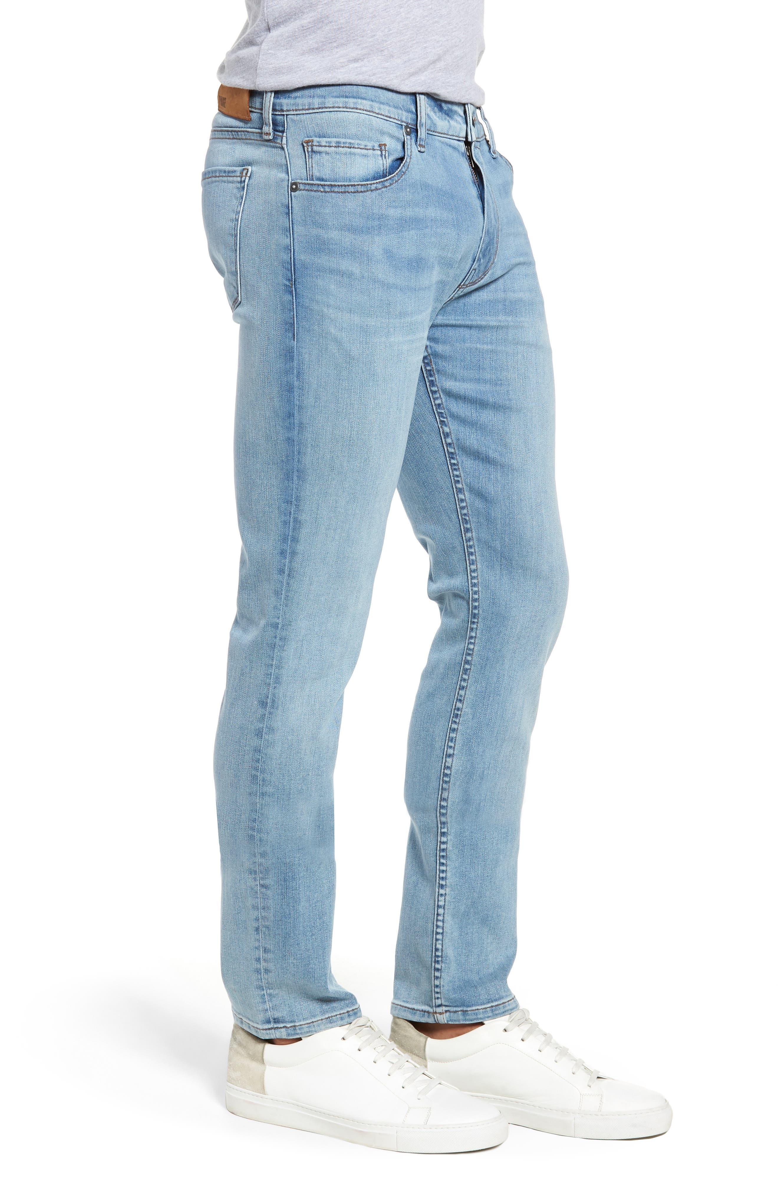 Transcend Vintage - Lennox Slim Fit Jeans,                             Alternate thumbnail 3, color,                             DENVER