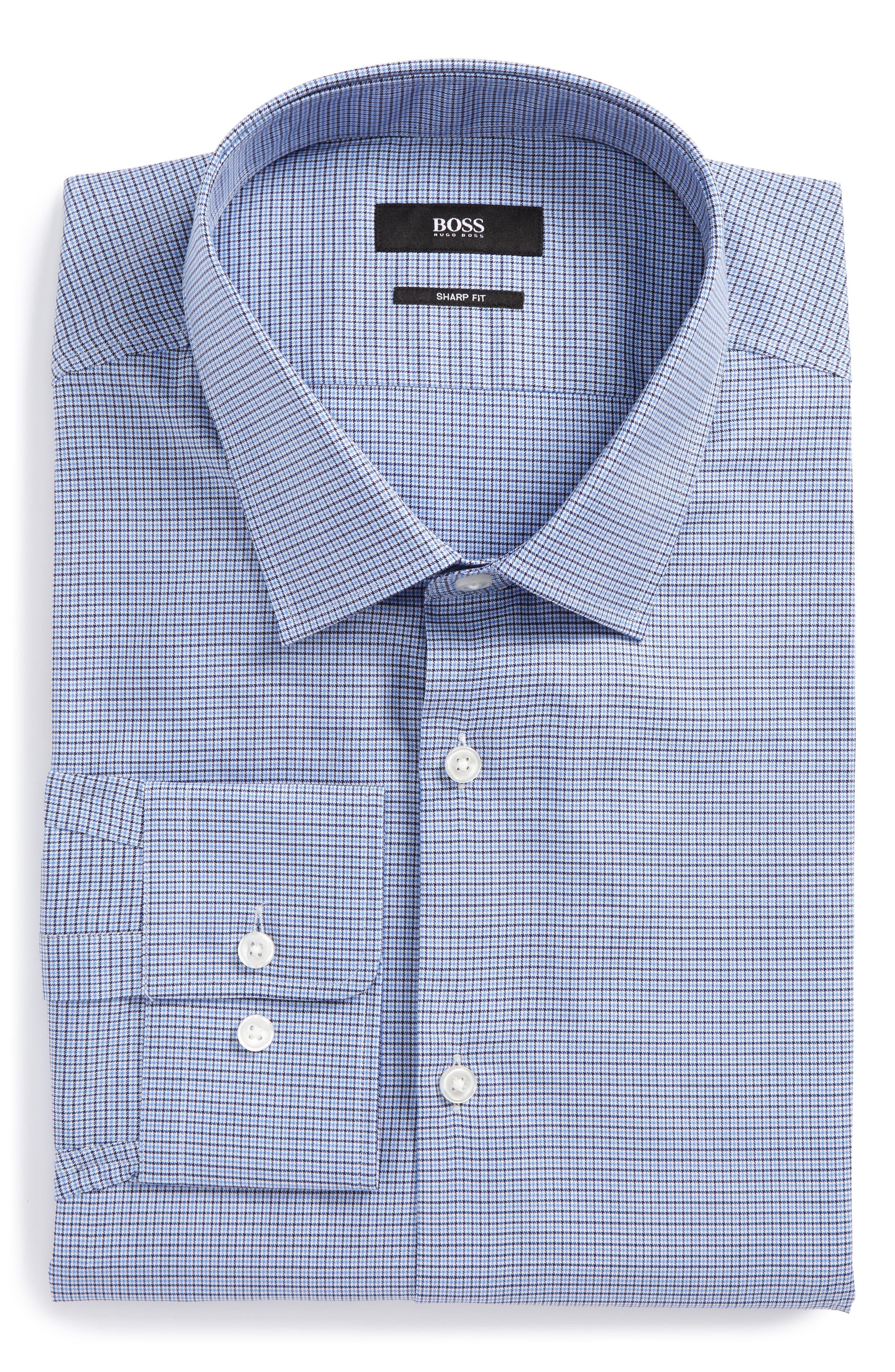 Marley Sharp Fit Dress Shirt,                         Main,                         color, 450