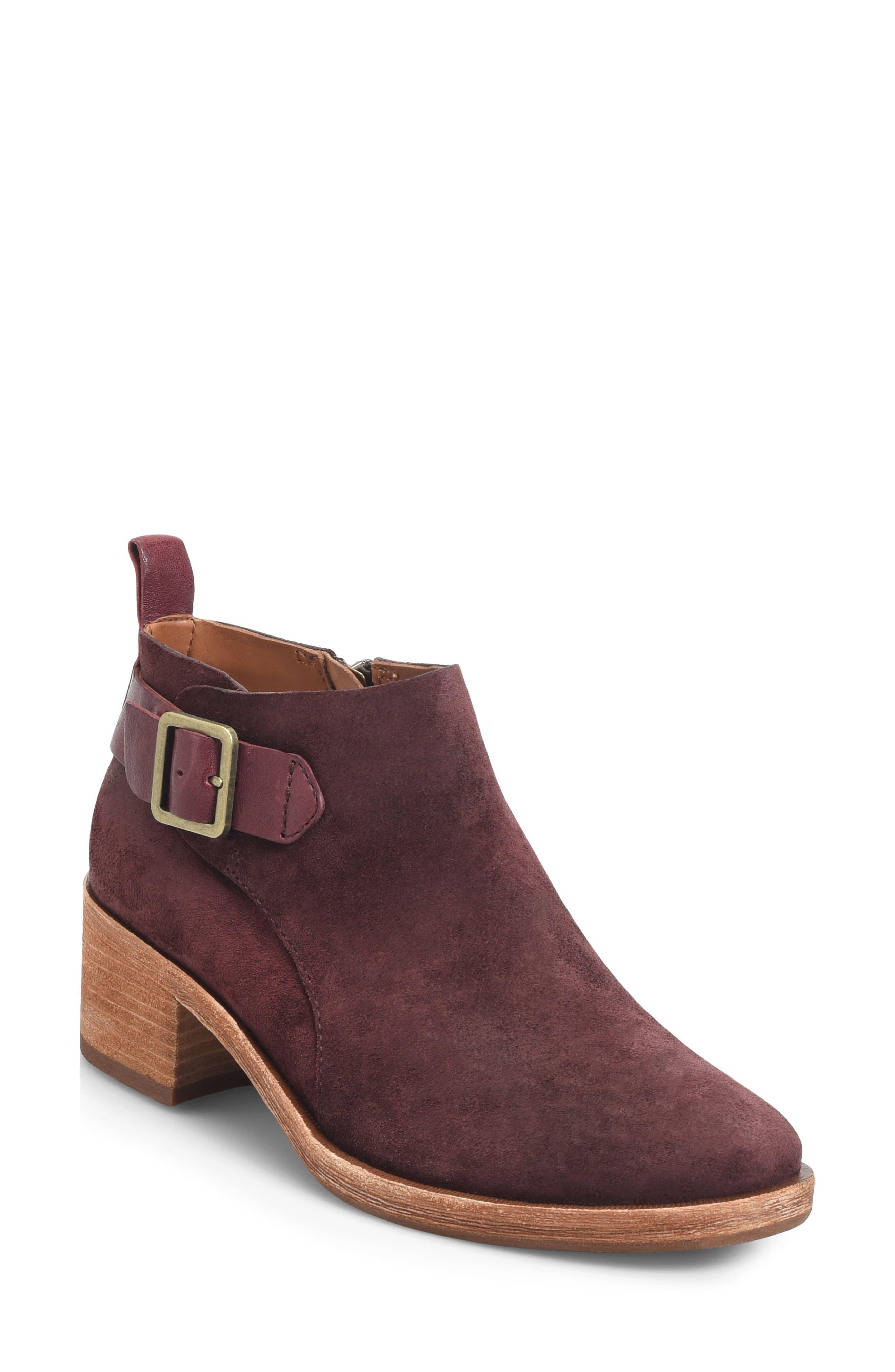 Mesa Boot,                         Main,                         color, BURGUNDY SUEDE