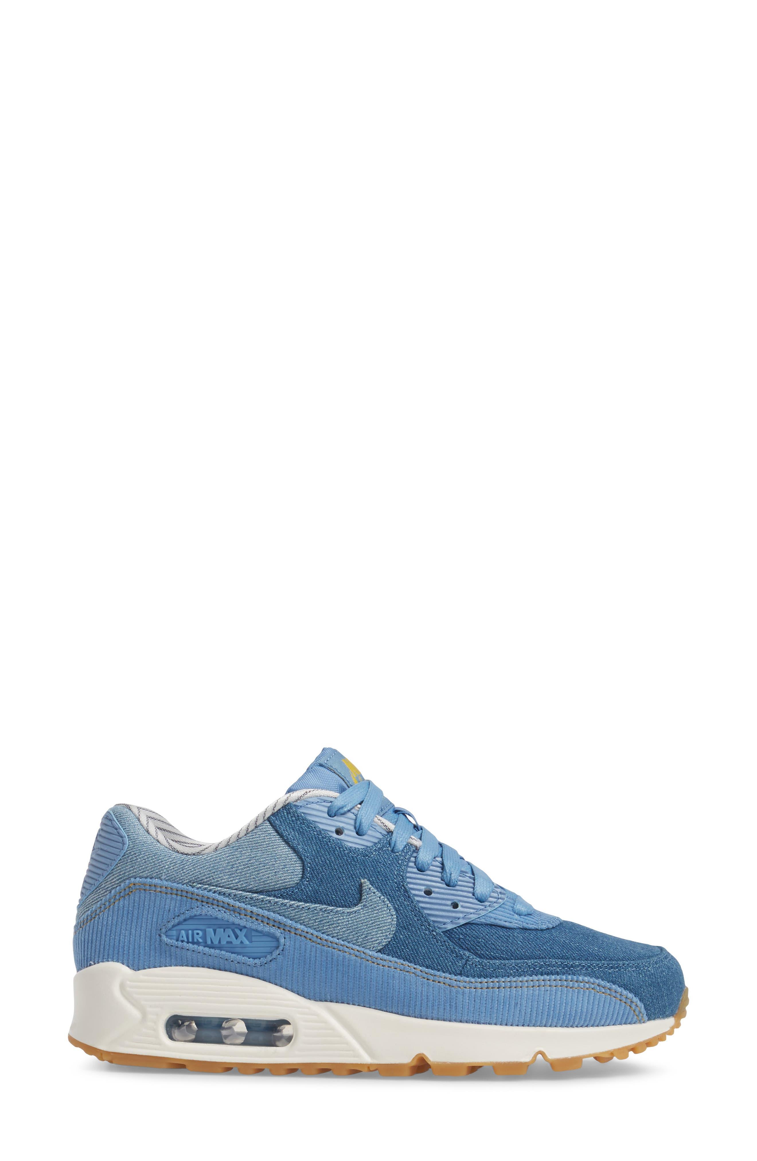 Air Max 90 SE Sneaker,                             Alternate thumbnail 26, color,