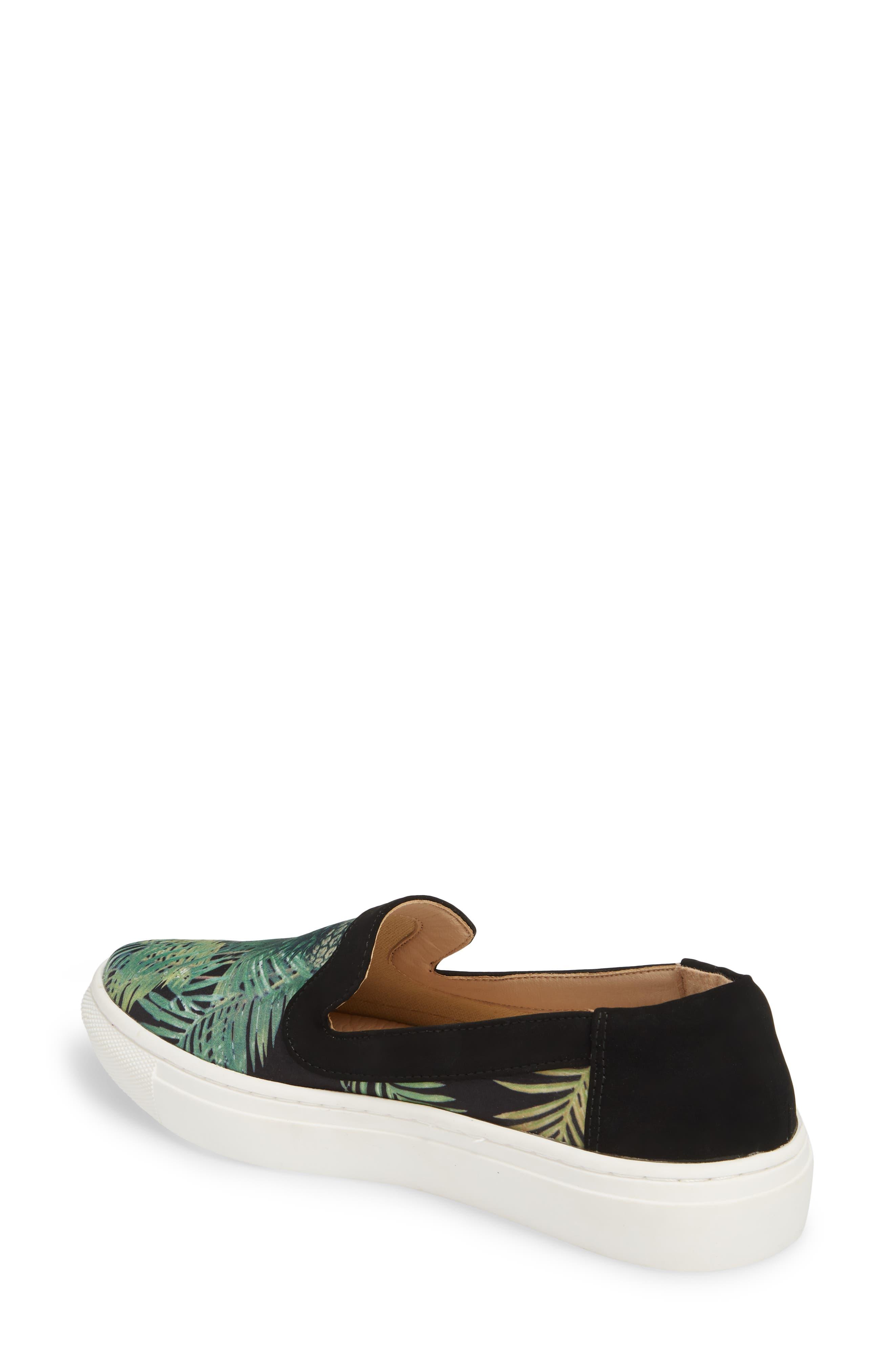 Lineth Sneaker,                             Alternate thumbnail 2, color,                             BLACK / MULTI