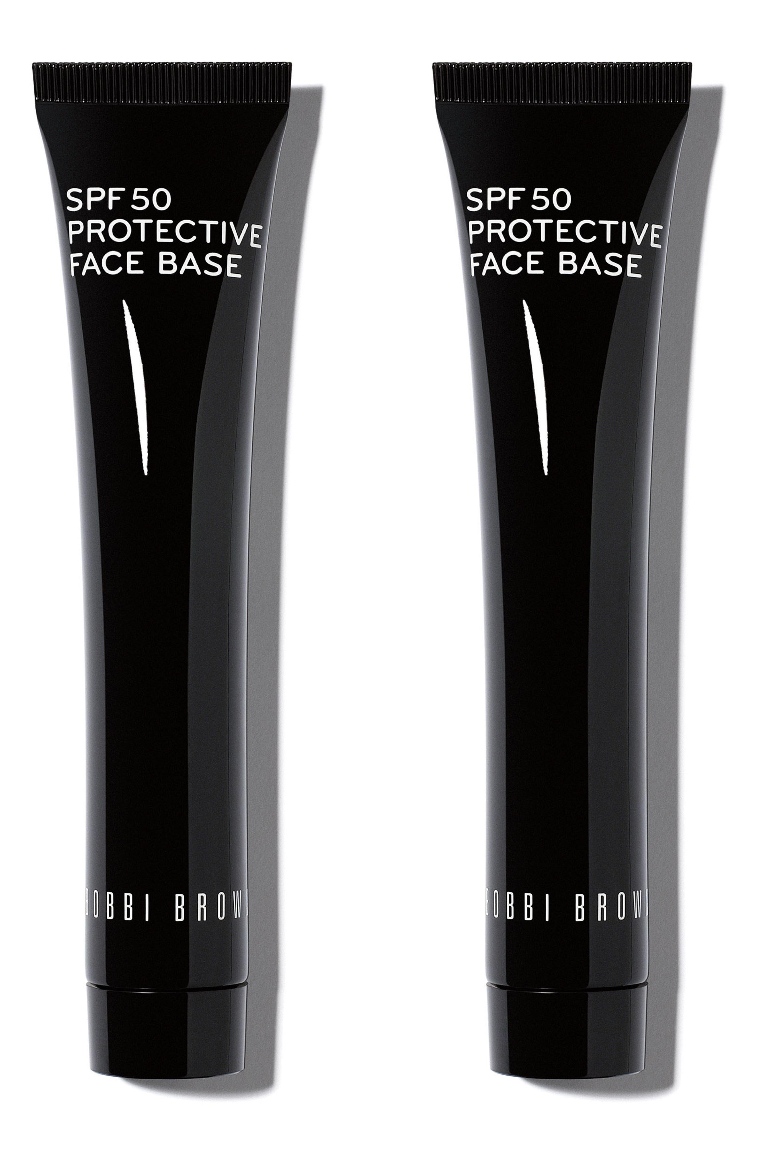 Protective Face Base SPF 50 Duo,                             Main thumbnail 1, color,                             000