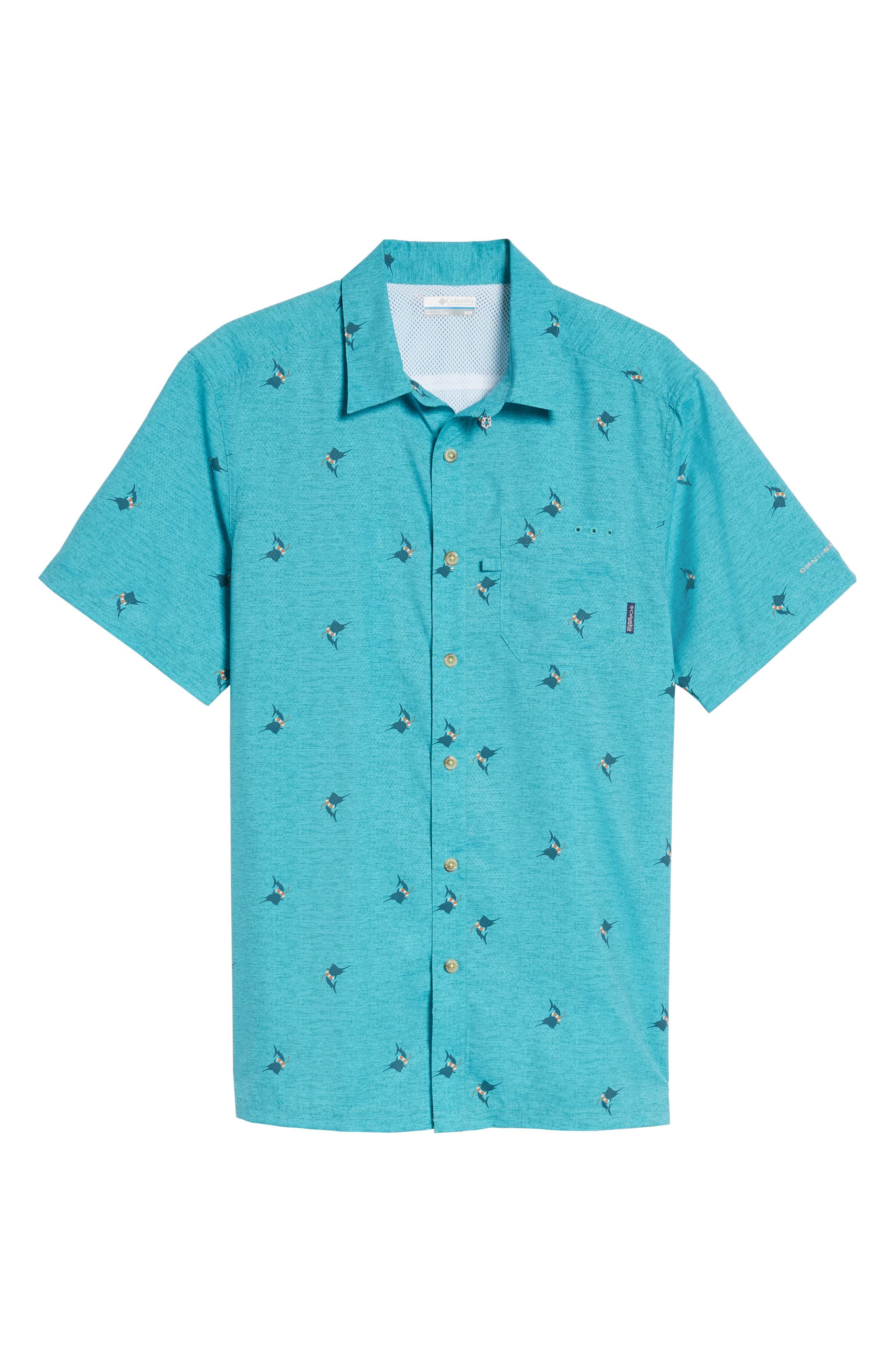 Super Slack Tide Patterned Woven Shirt,                             Alternate thumbnail 28, color,
