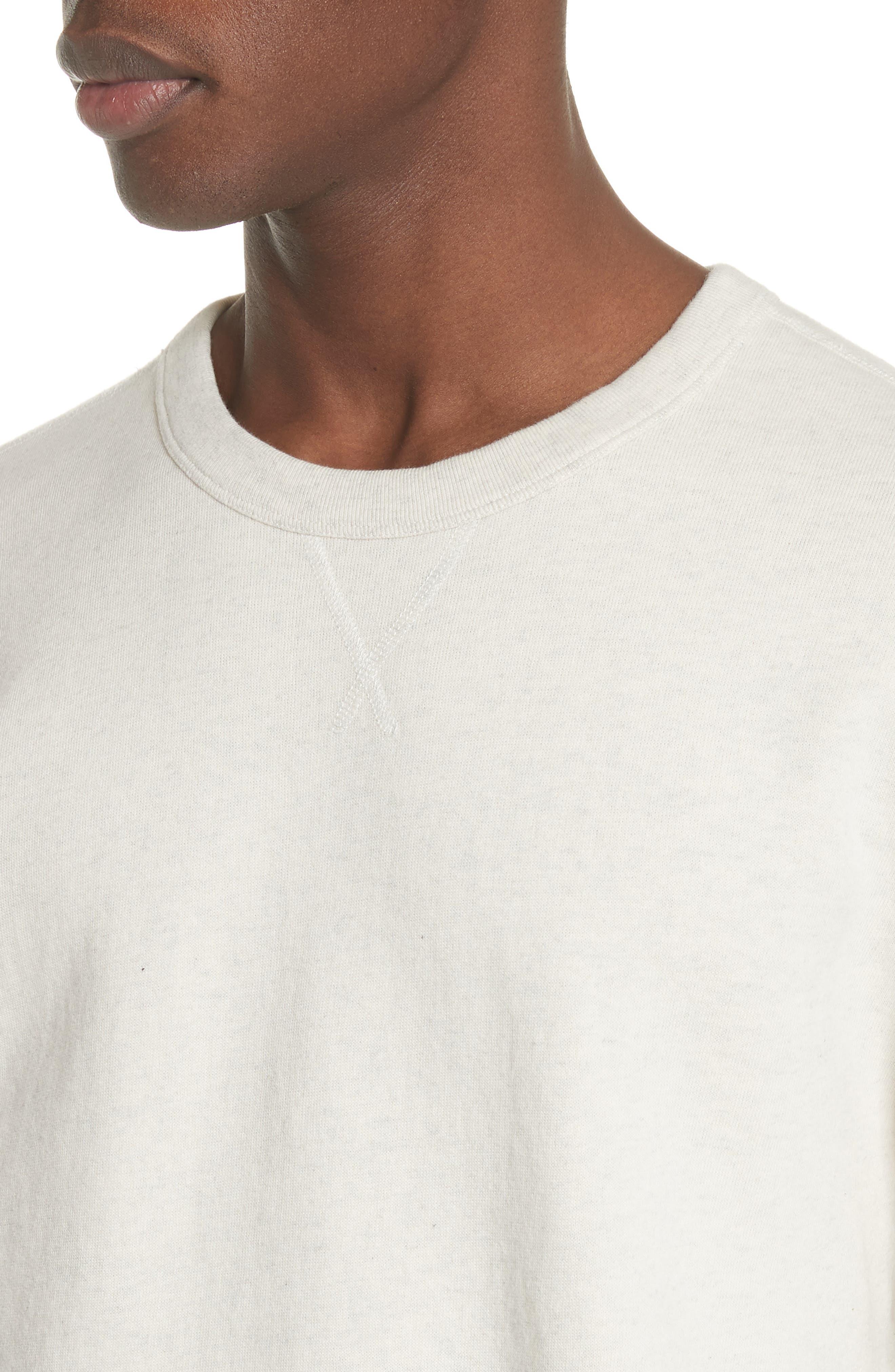Crewneck Sweatshirt,                             Alternate thumbnail 4, color,                             050