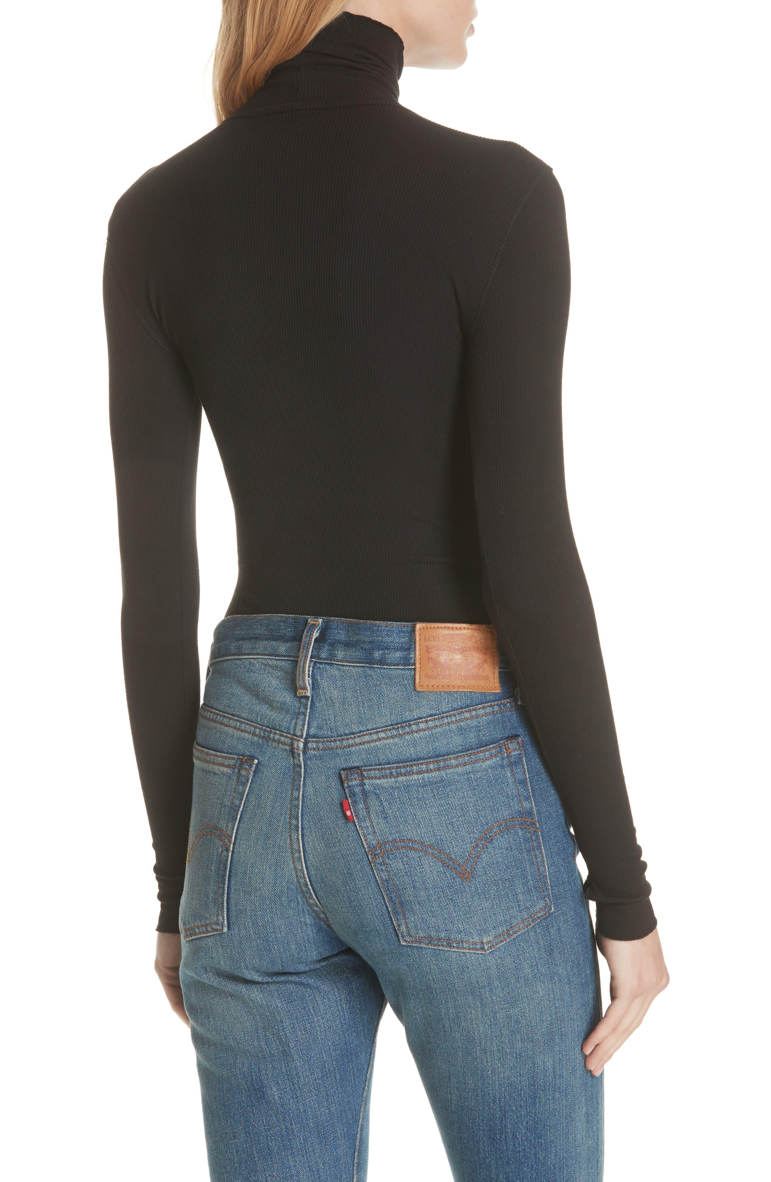 That Classic Girl Bodysuit,                             Alternate thumbnail 3, color,                             BLACK