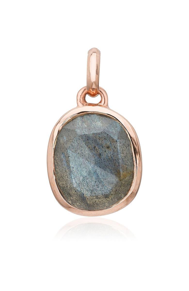 Monica Vinader Accessories Siren Semiprecious Stone Pendant Charm