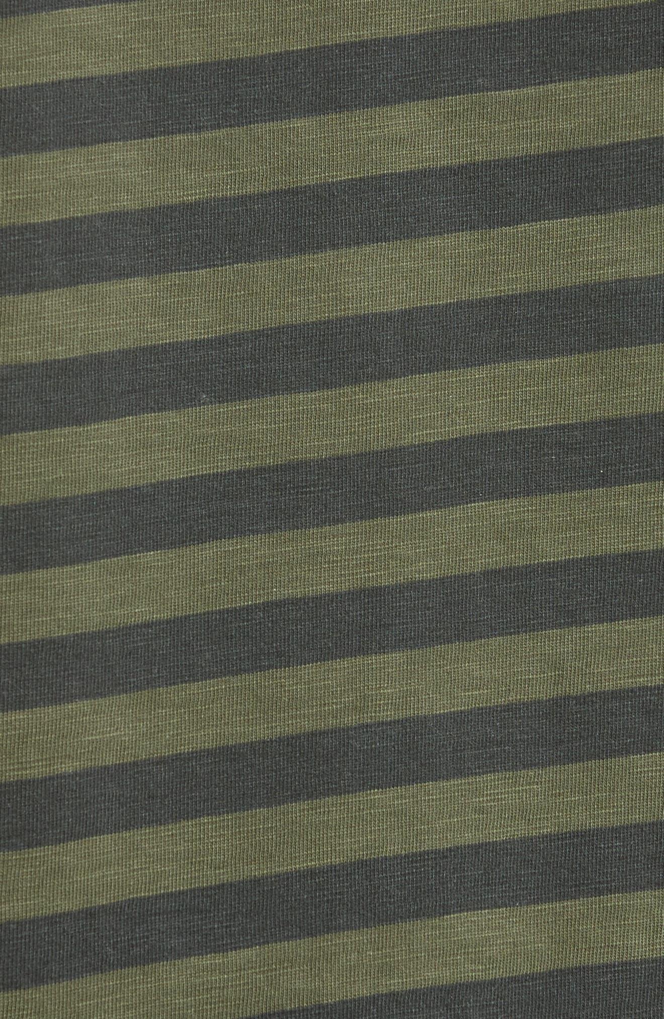 Blake Stripe T-Shirt,                             Alternate thumbnail 5, color,                             301