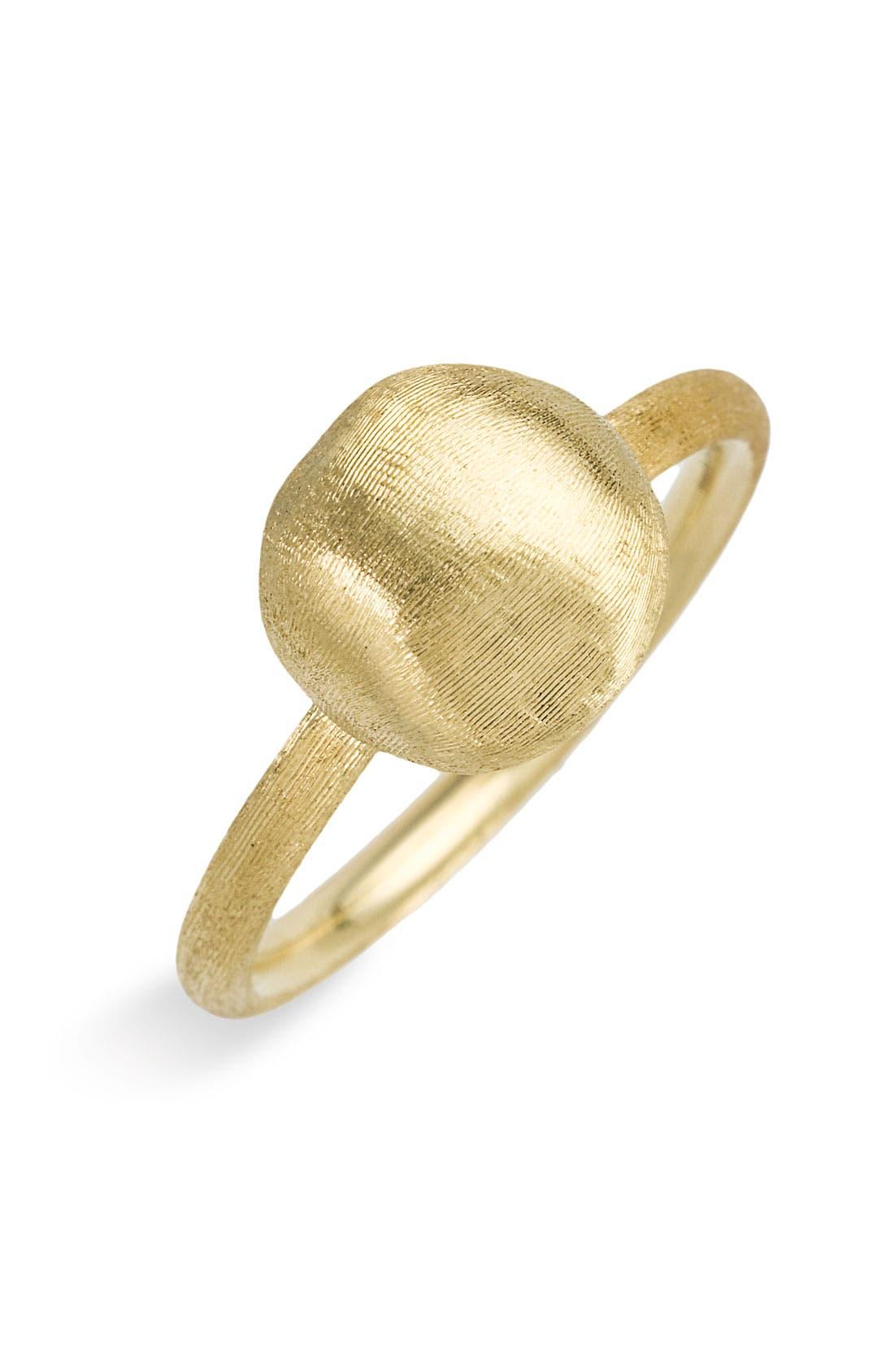 'Africa Gold' Ball Ring,                             Main thumbnail 1, color,                             710