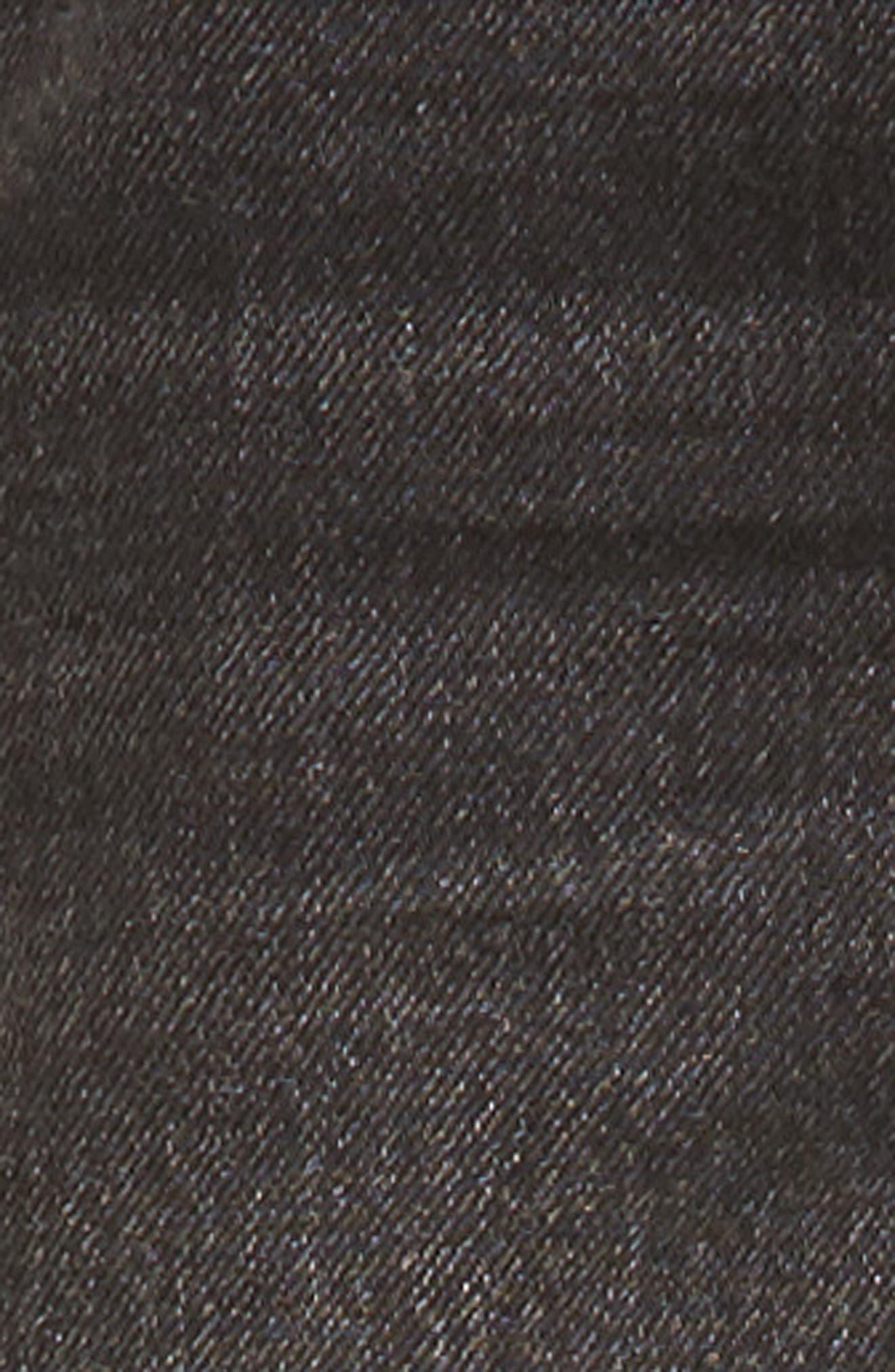 Truckers Straight Leg Jeans,                             Alternate thumbnail 5, color,                             001