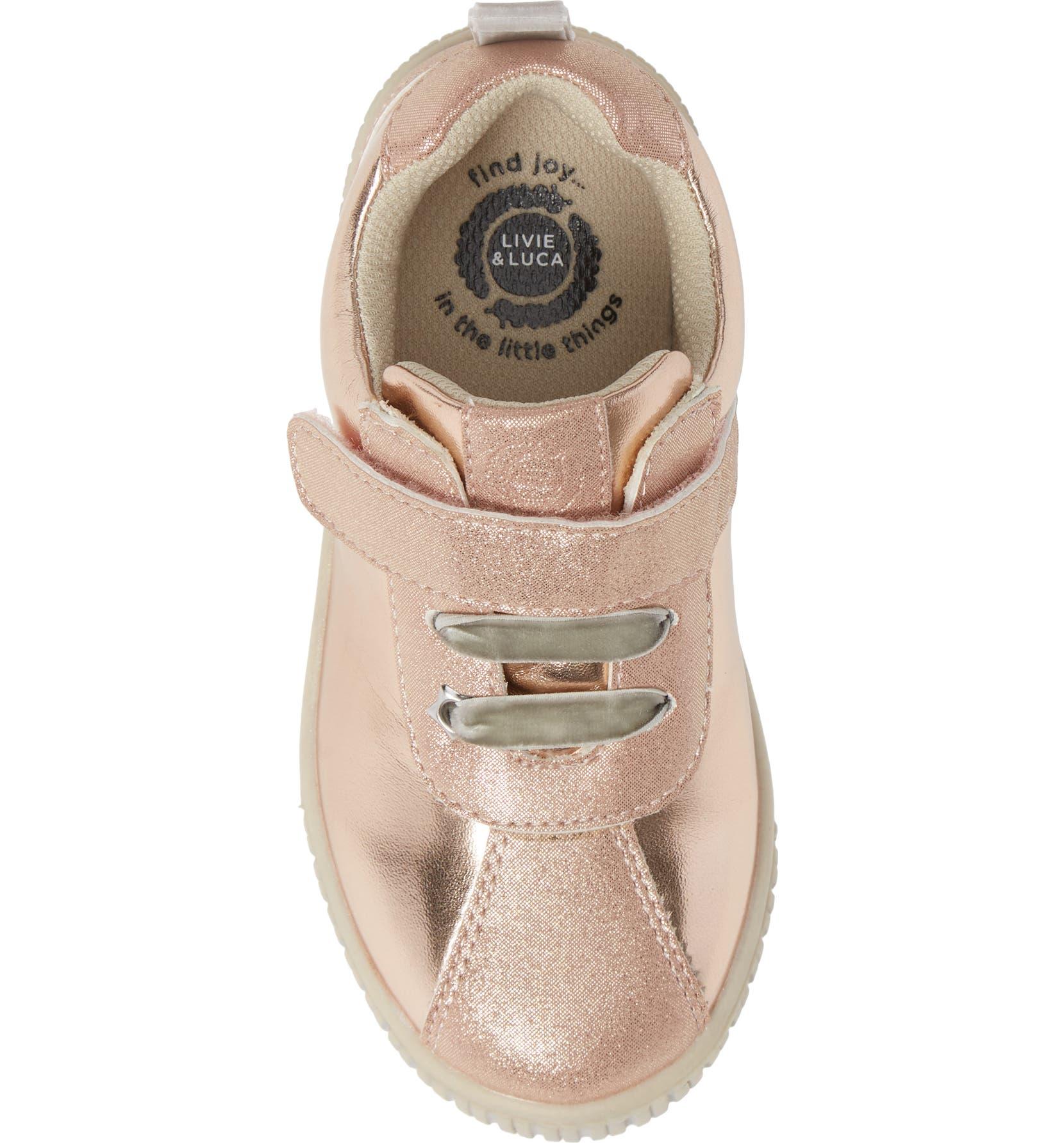 610c499319b4 Livie   Luca Spin Metallic Sneaker (Baby