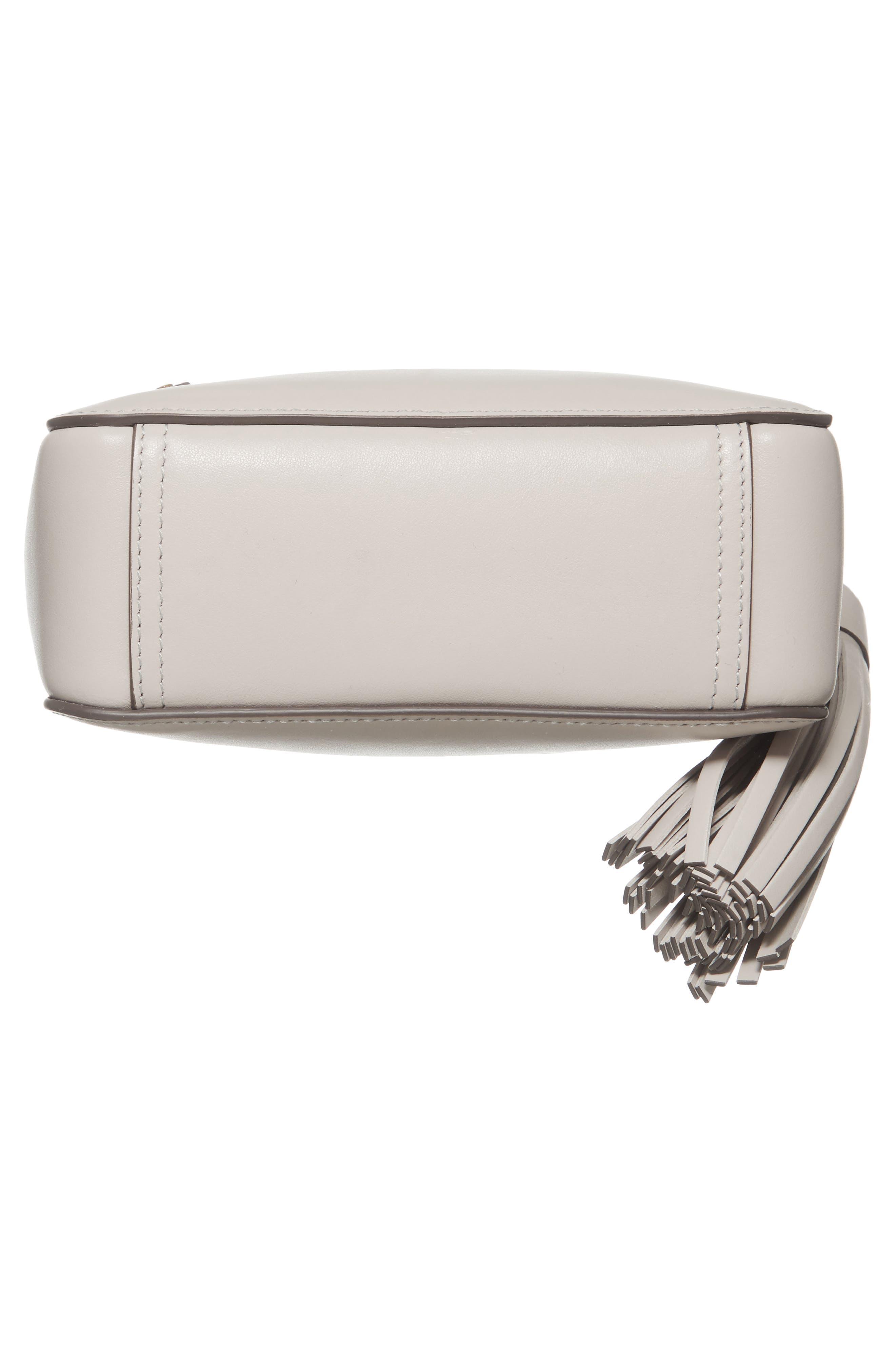 ANYA HINDMARCH,                             Eyes Leather Crossbody Bag,                             Alternate thumbnail 6, color,                             050