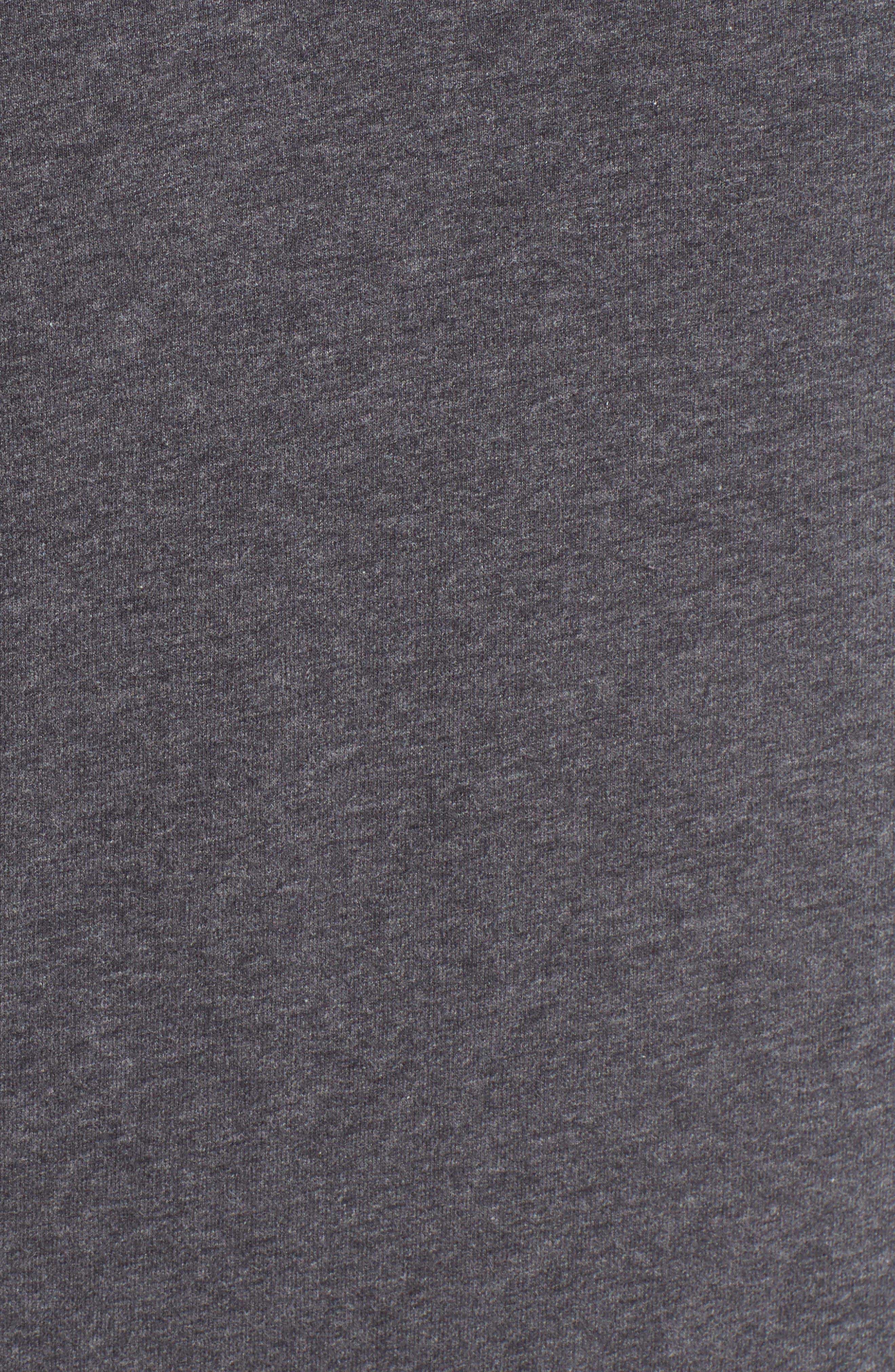 Stretch Cotton V-Neck T-Shirt,                             Alternate thumbnail 5, color,                             020