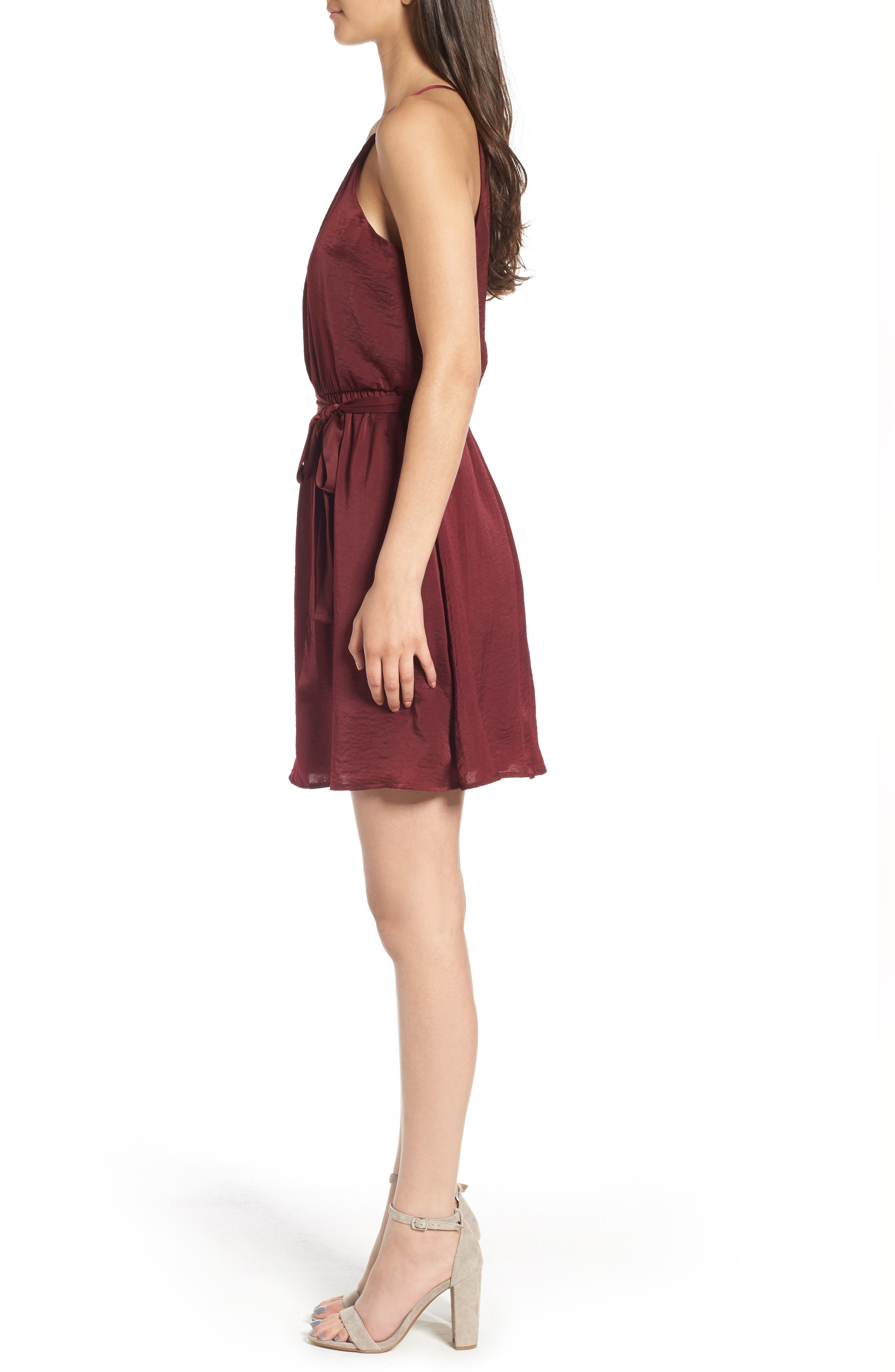 As You Wish Tie Waist Dress,                             Alternate thumbnail 6, color,