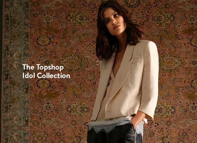 The Topshop Idol Collection. Women's clothing.