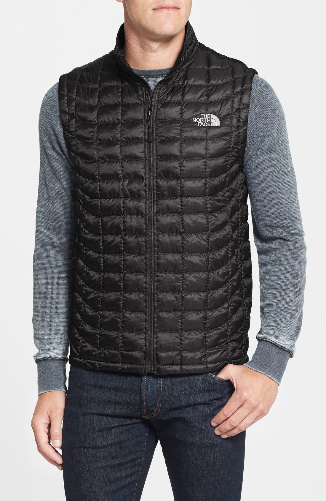 'ThermoBall<sup>™</sup>' Packable PrimaLoft<sup>®</sup> Vest,                             Main thumbnail 8, color,