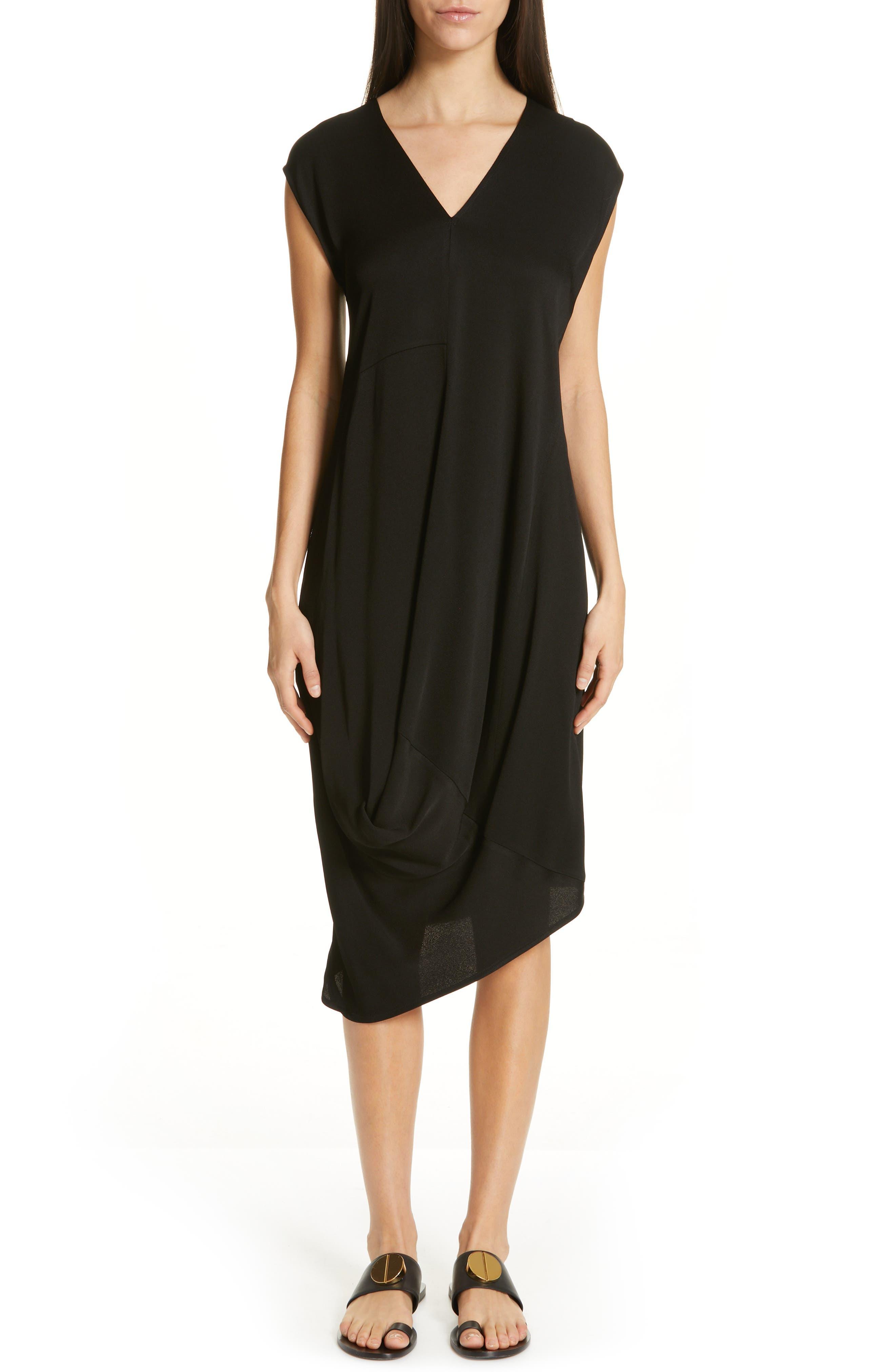 Zero + Maria Cornejo Loop Drape Dress