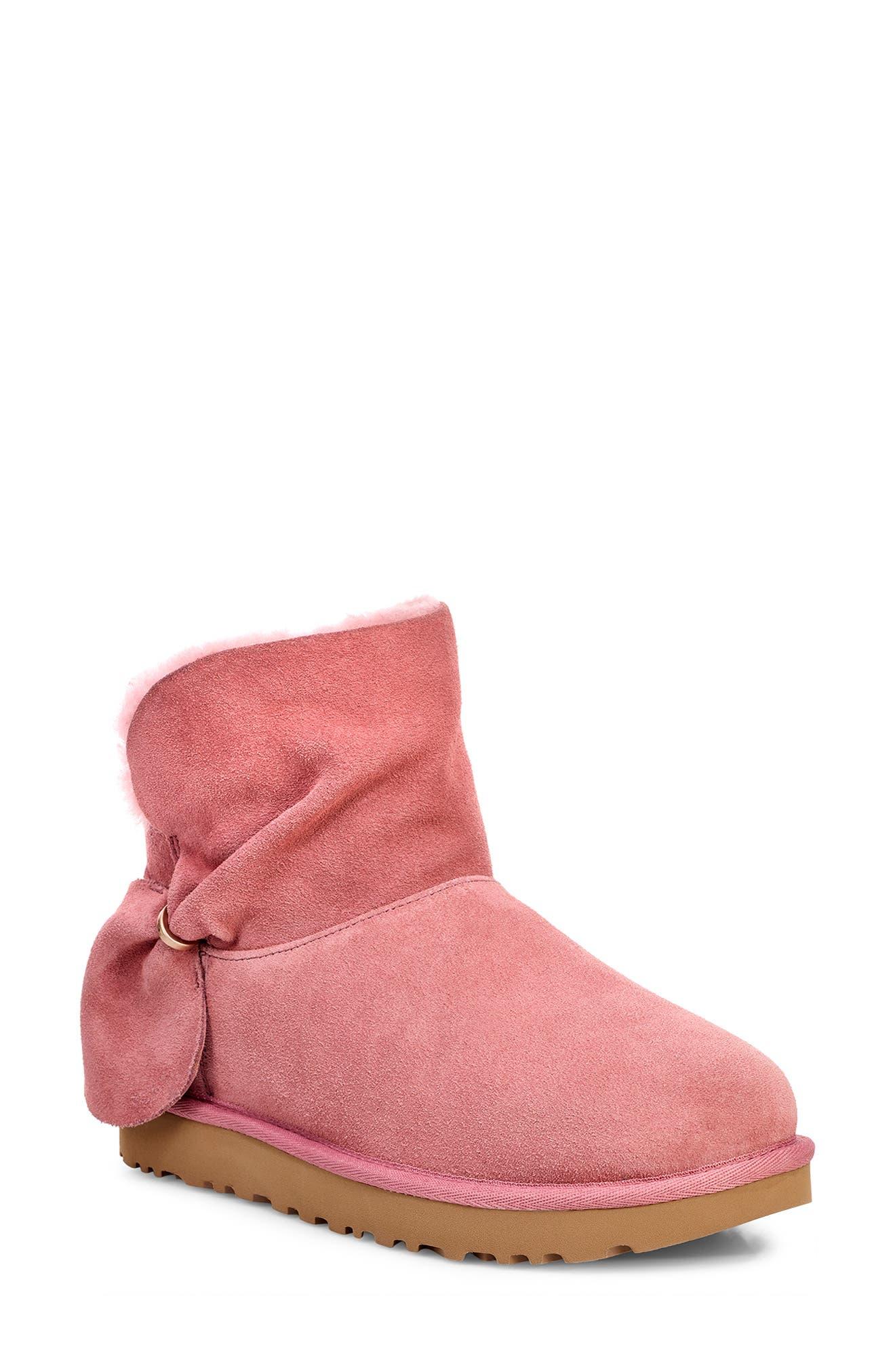 Ugg Classic Mini Twist Bootie, Pink