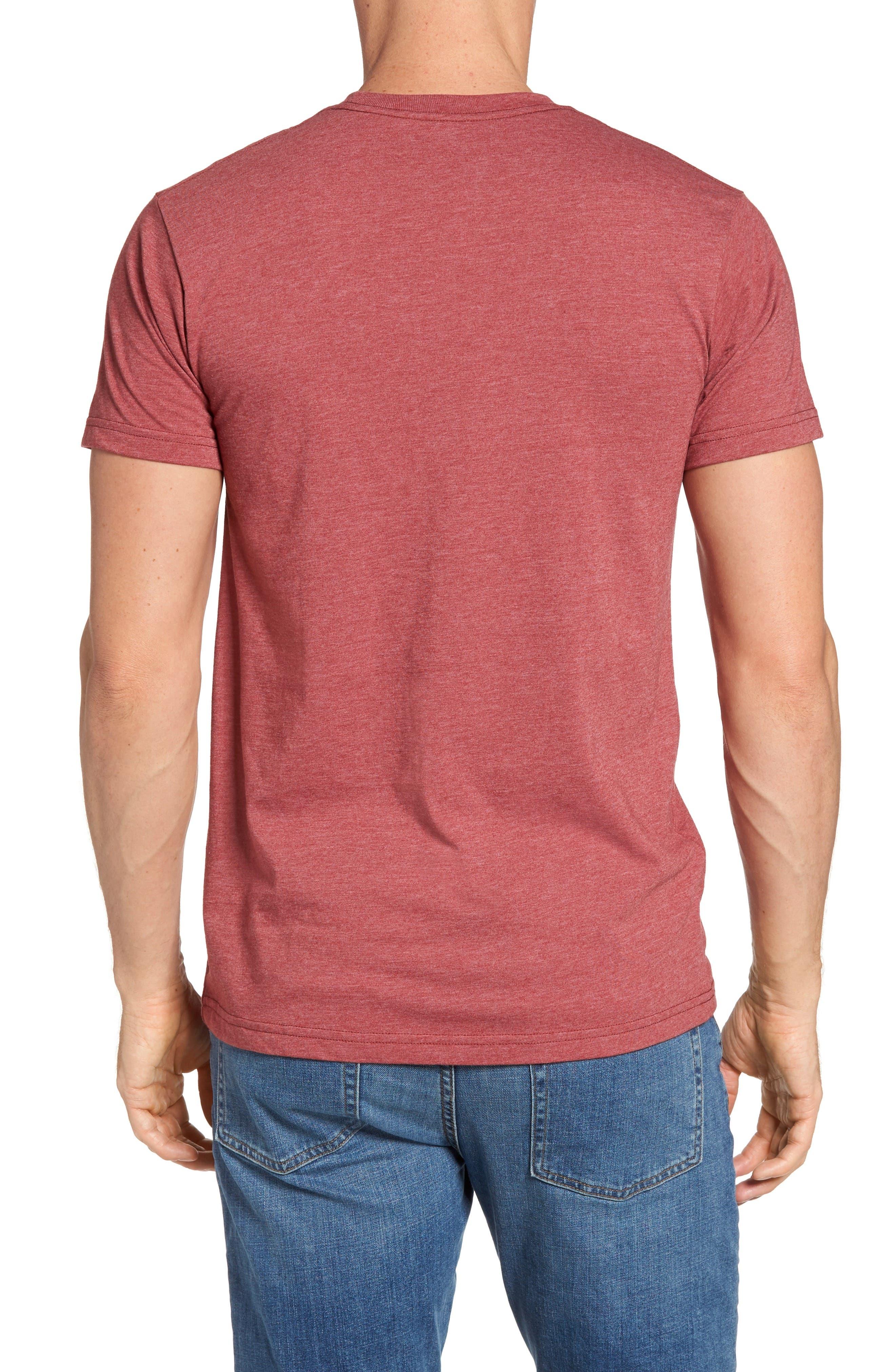 'Fitz Roy Crest' Slim Fit Organic Cotton Blend T-Shirt,                             Alternate thumbnail 16, color,