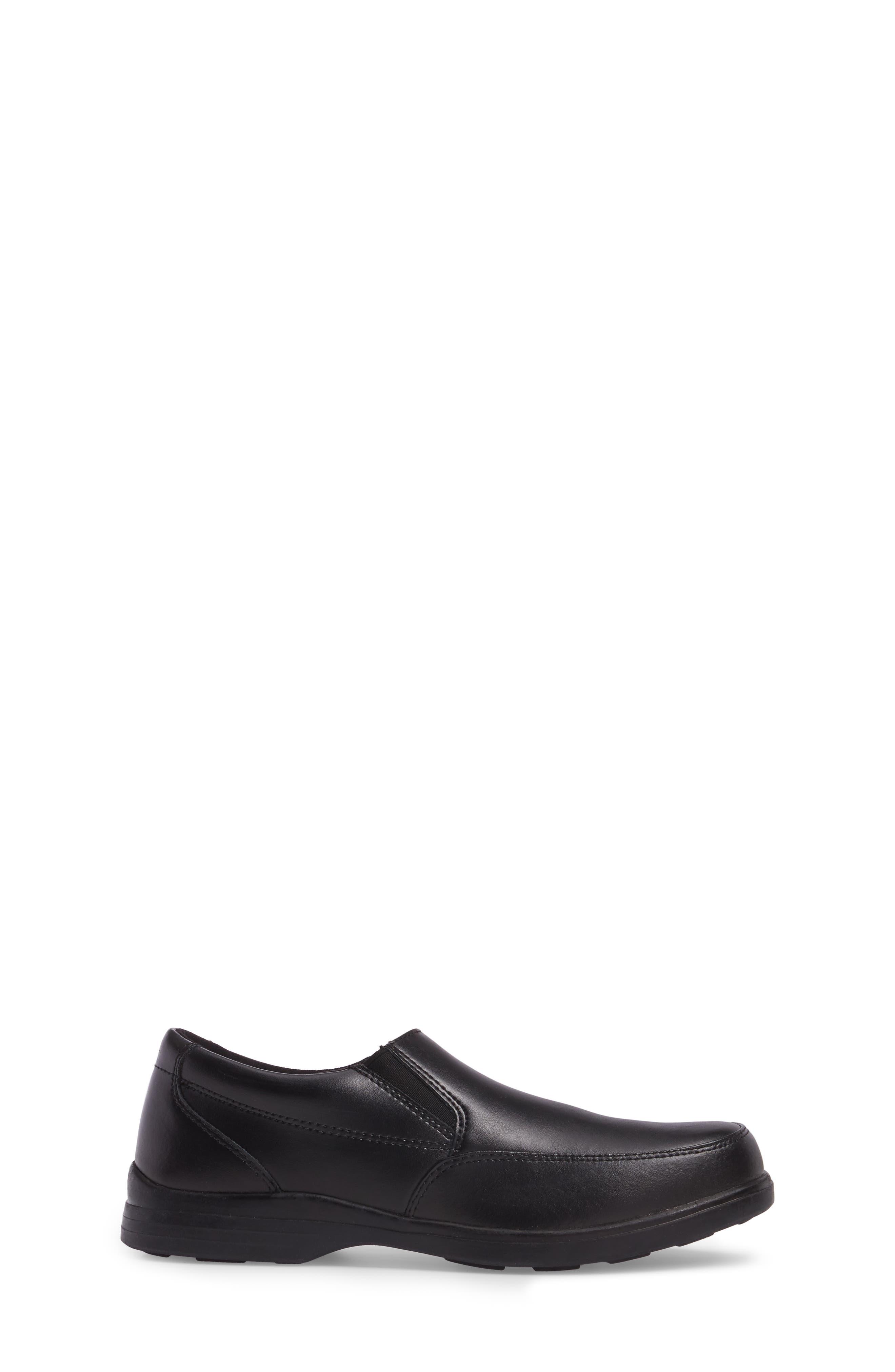Shane Slip-On Dress Shoe,                             Alternate thumbnail 3, color,                             001