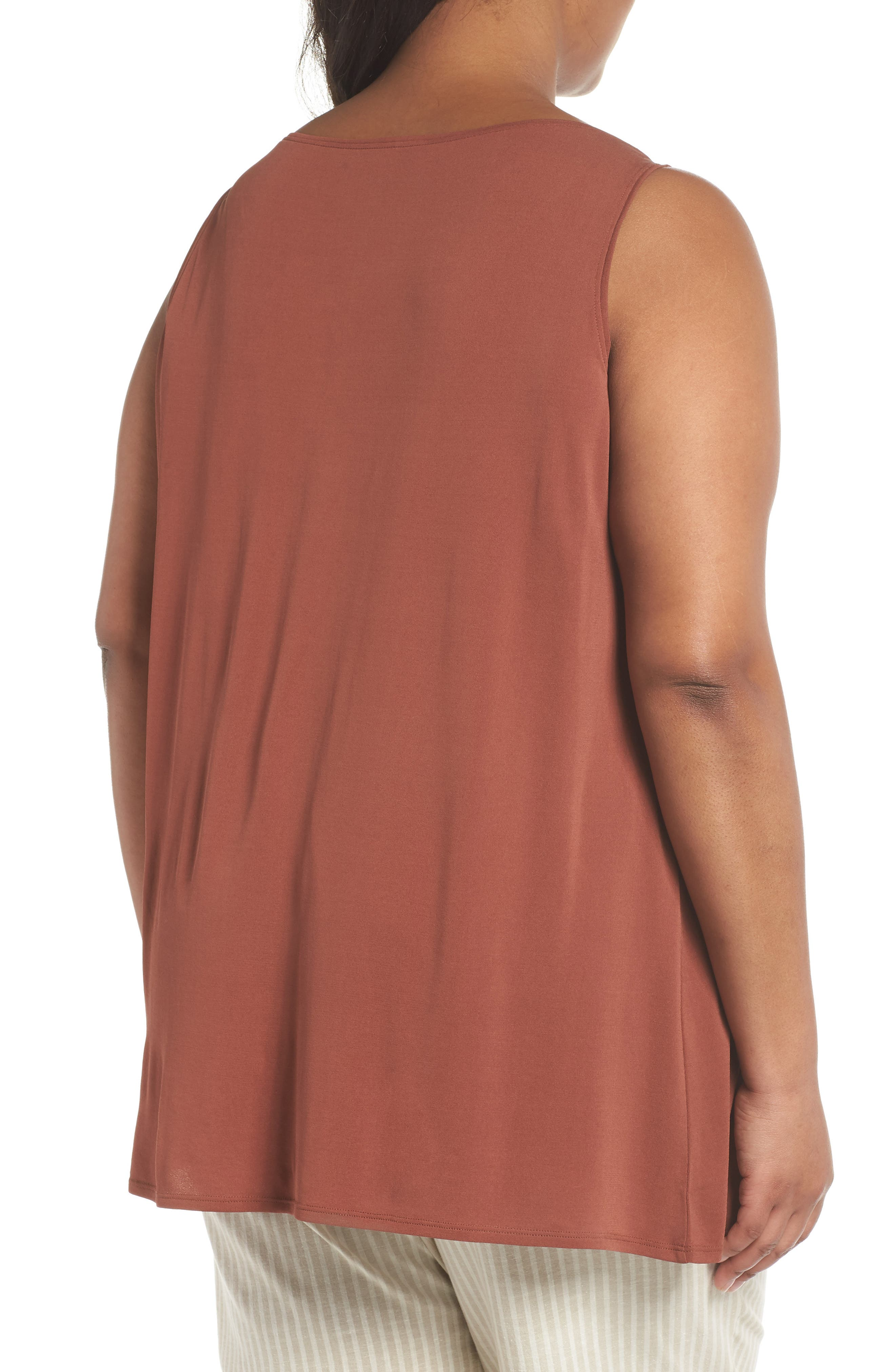 Silk Jersey Tank,                             Alternate thumbnail 2, color,                             242