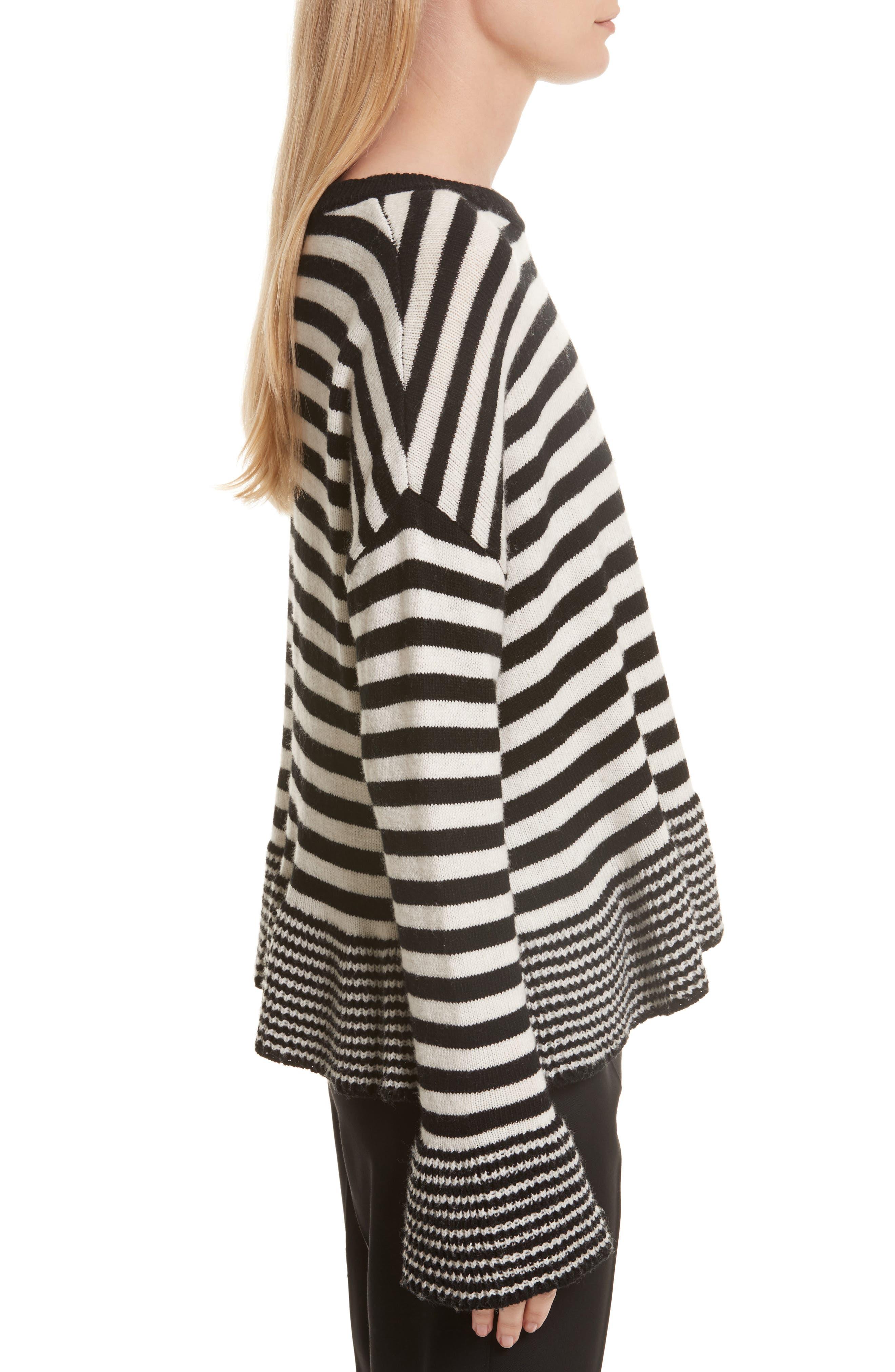 Seren Stripe Pullover,                             Alternate thumbnail 3, color,                             015