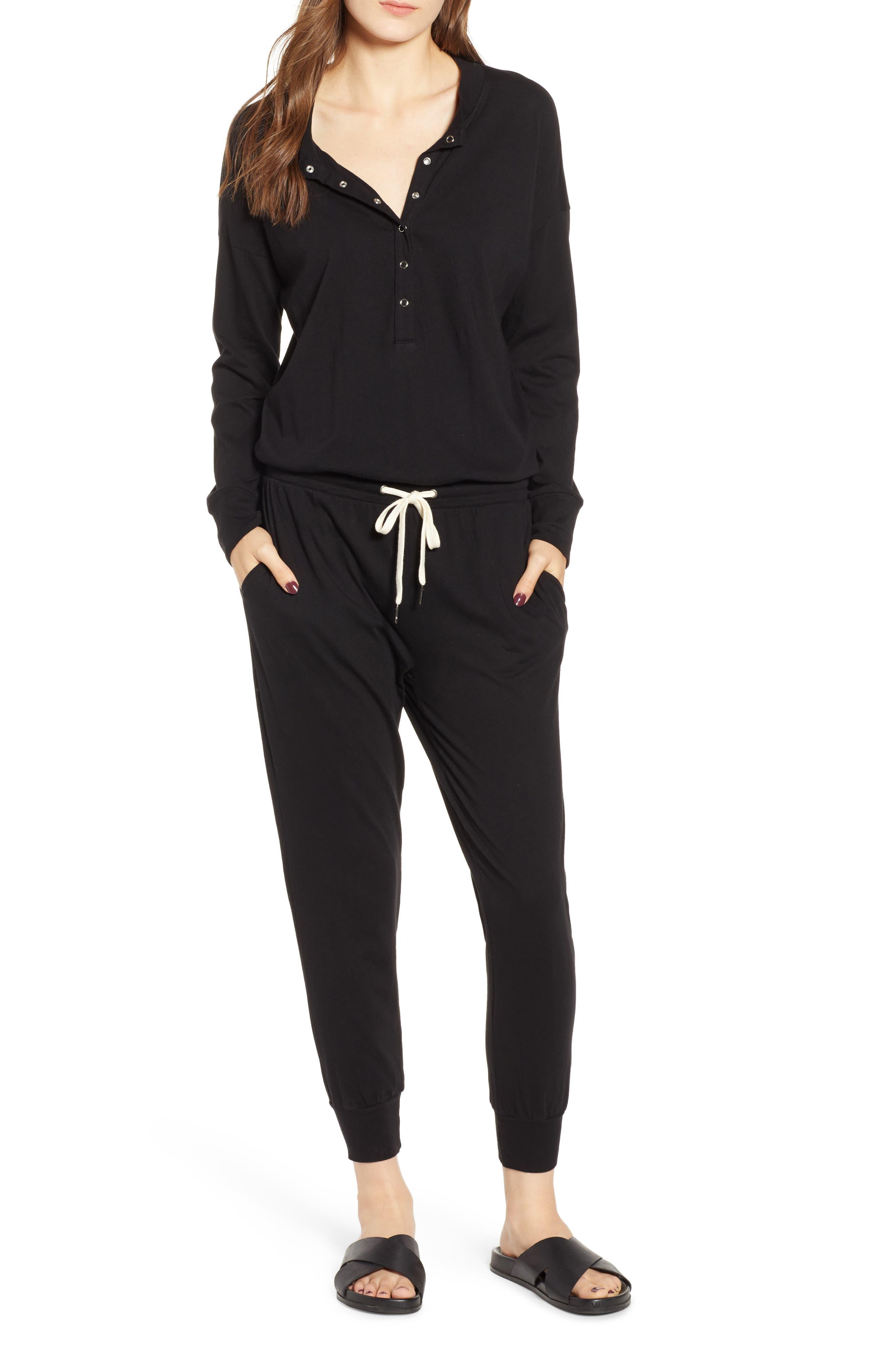 N PHILANTHROPY Dream Jumpsuit in Black Cat