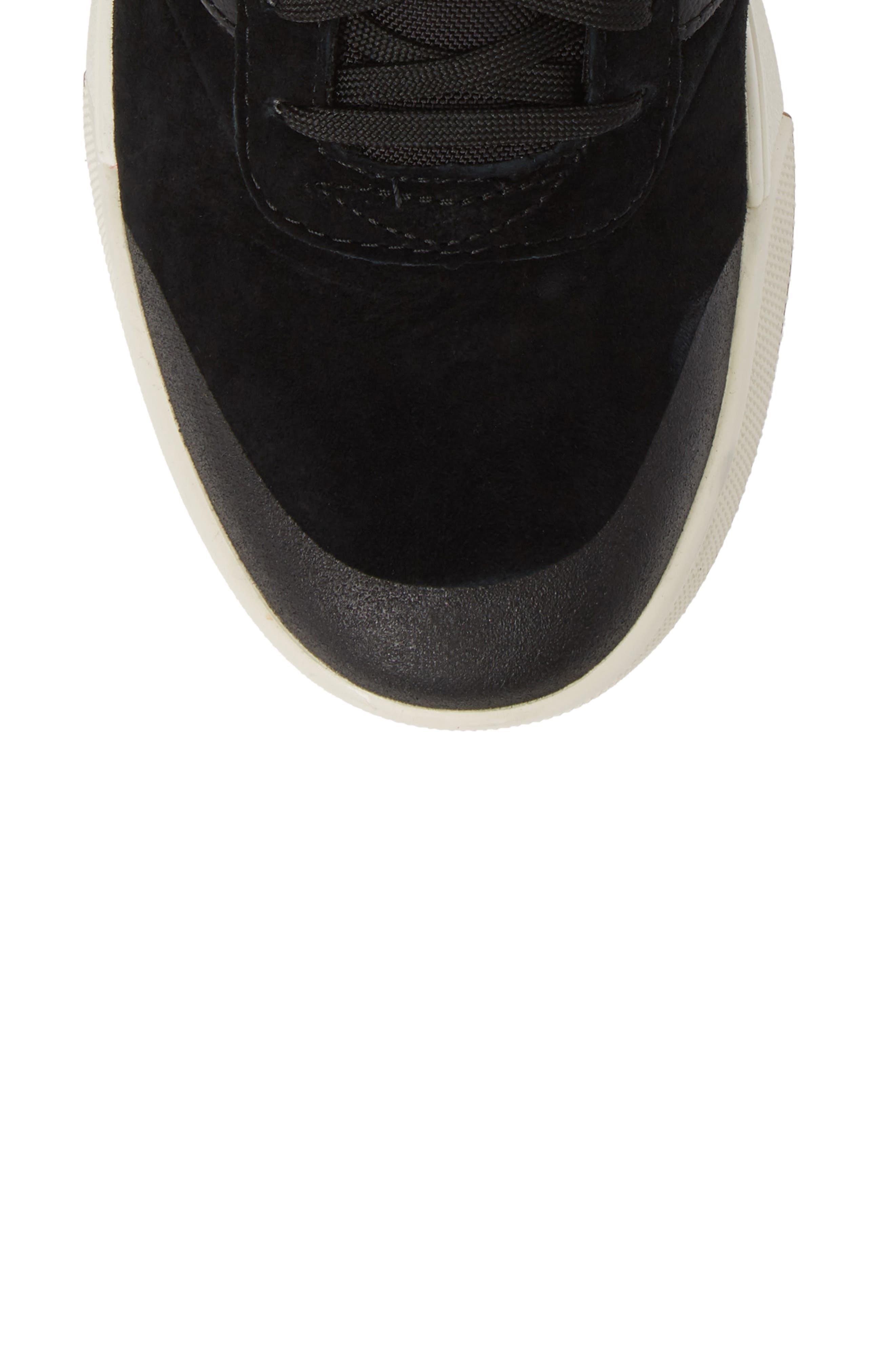 Ultrarange Hi Sneaker,                             Alternate thumbnail 5, color,                             BLACK