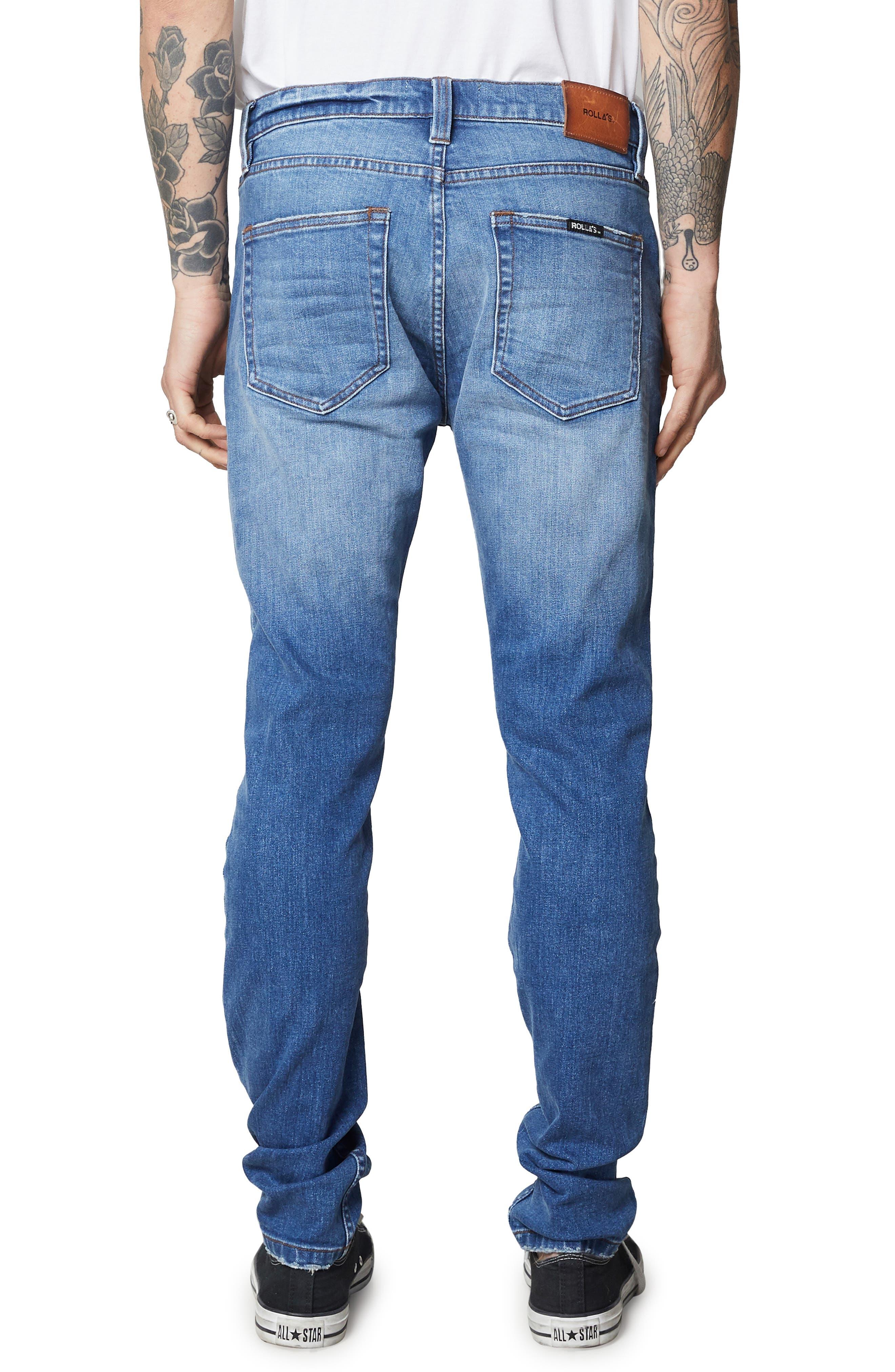 Stinger Skinny Fit Jeans,                             Alternate thumbnail 2, color,                             HOMESPUN CRUSH