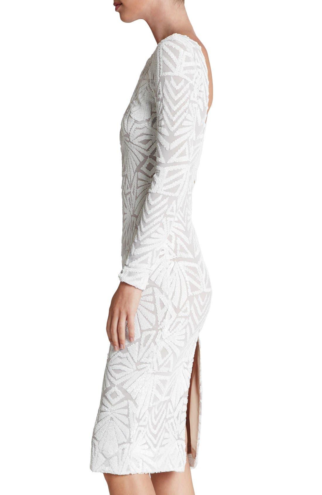 Emery Midi Dress,                             Alternate thumbnail 16, color,