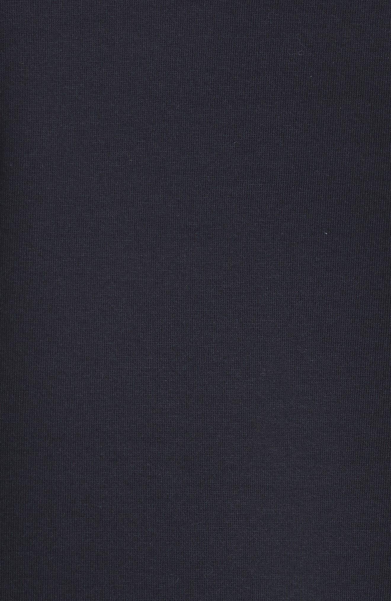 Frill Sleeve Sweatshirt,                             Alternate thumbnail 9, color,