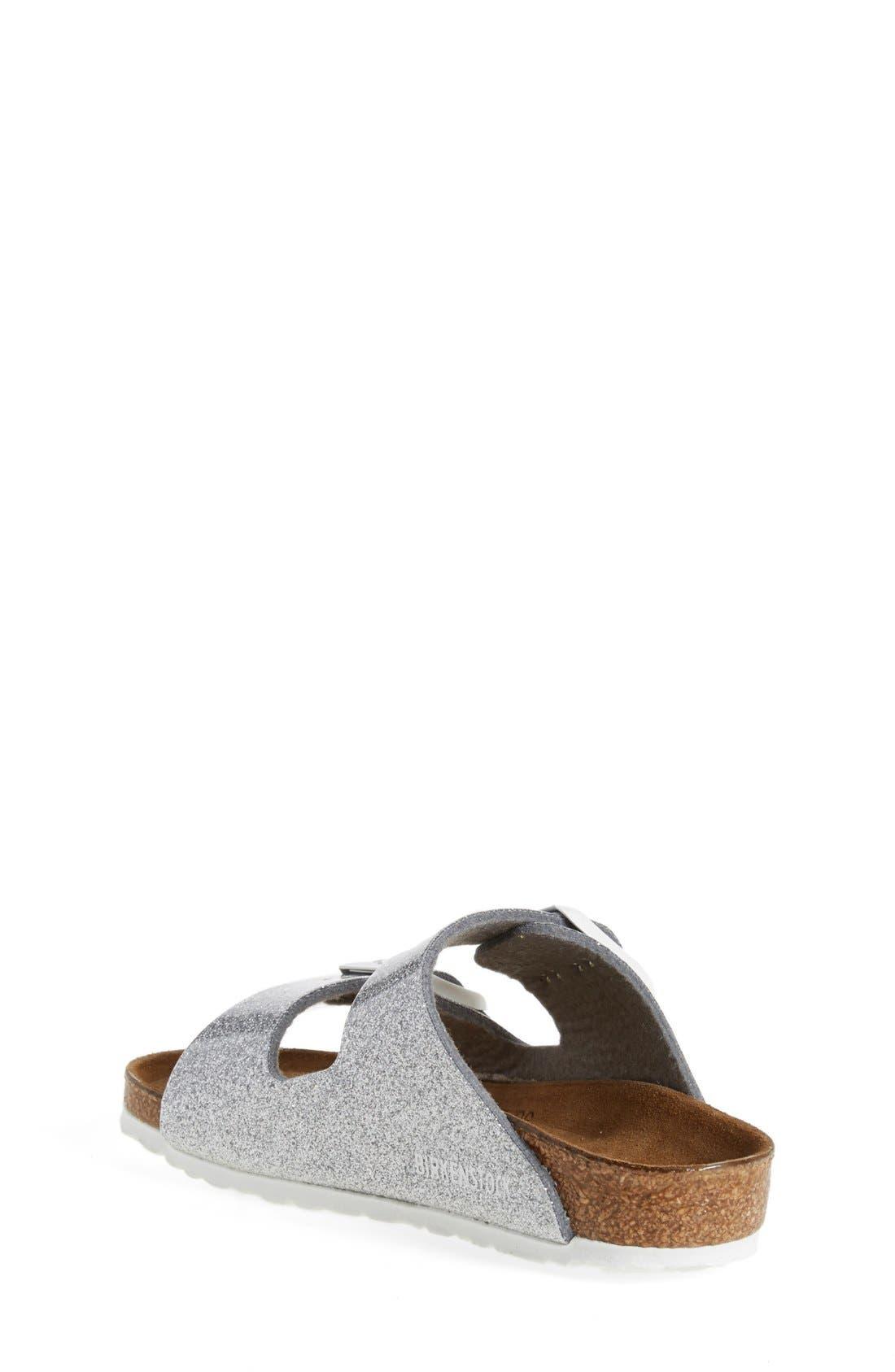 'Arizona Galaxy Birko-Flor' Slide Sandal,                             Alternate thumbnail 6, color,