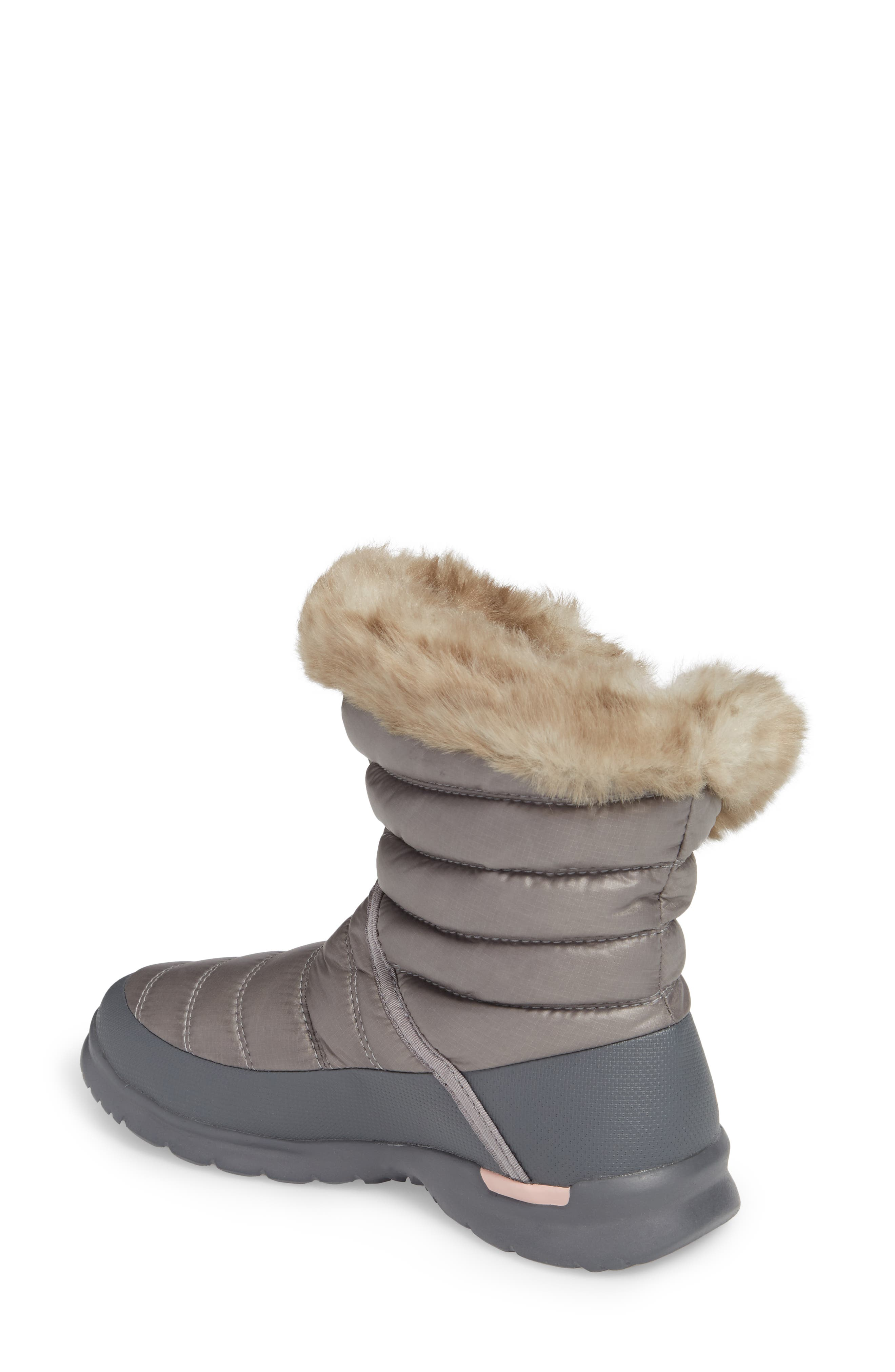THE NORTH FACE,                             Microbaffle Waterproof ThermoBall<sup>™</sup> Insulated Winter Boot,                             Alternate thumbnail 2, color,                             021