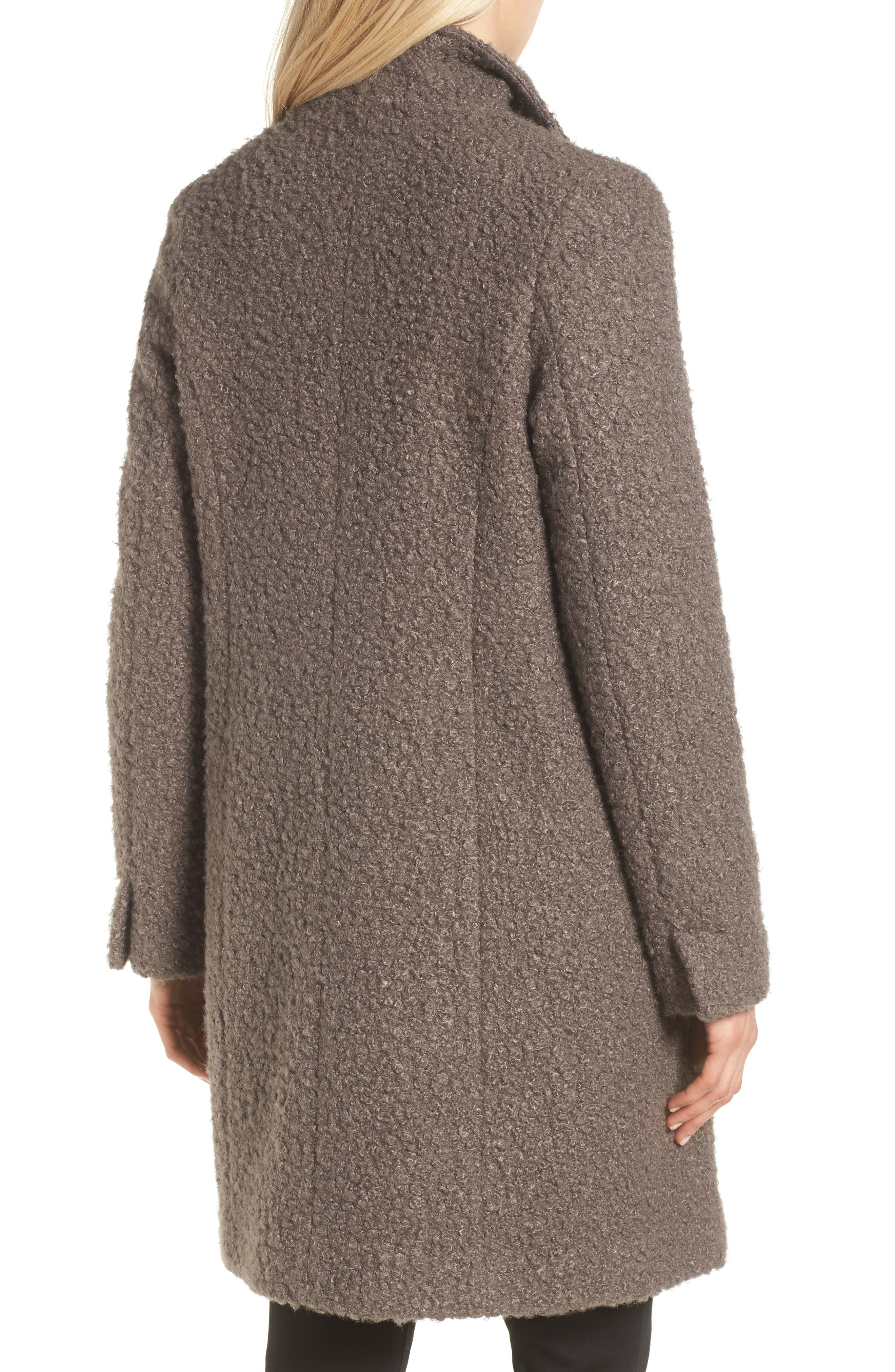 TAHARI,                             Sheila Bouclé Knit Coat,                             Alternate thumbnail 2, color,                             087