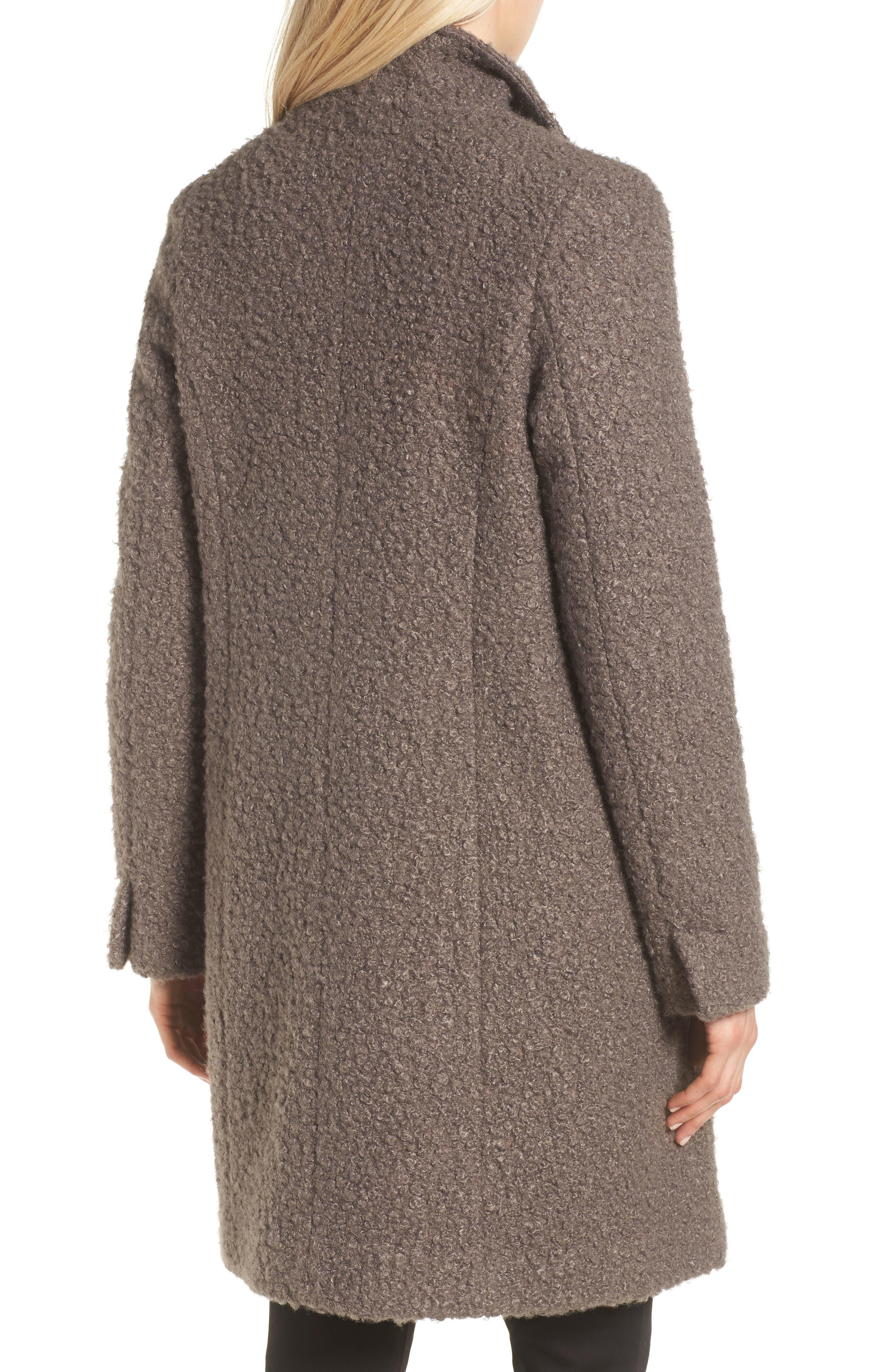 Sheila Bouclé Knit Coat,                             Alternate thumbnail 2, color,                             087