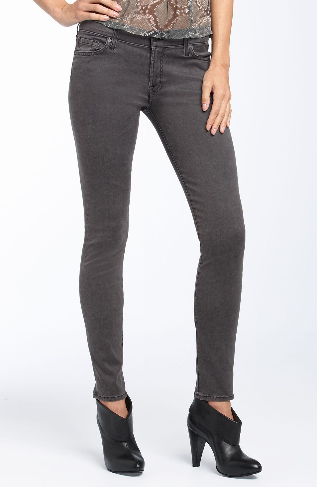 'Gwenevere' Skinny Stretch Jeans,                             Alternate thumbnail 2, color,                             020