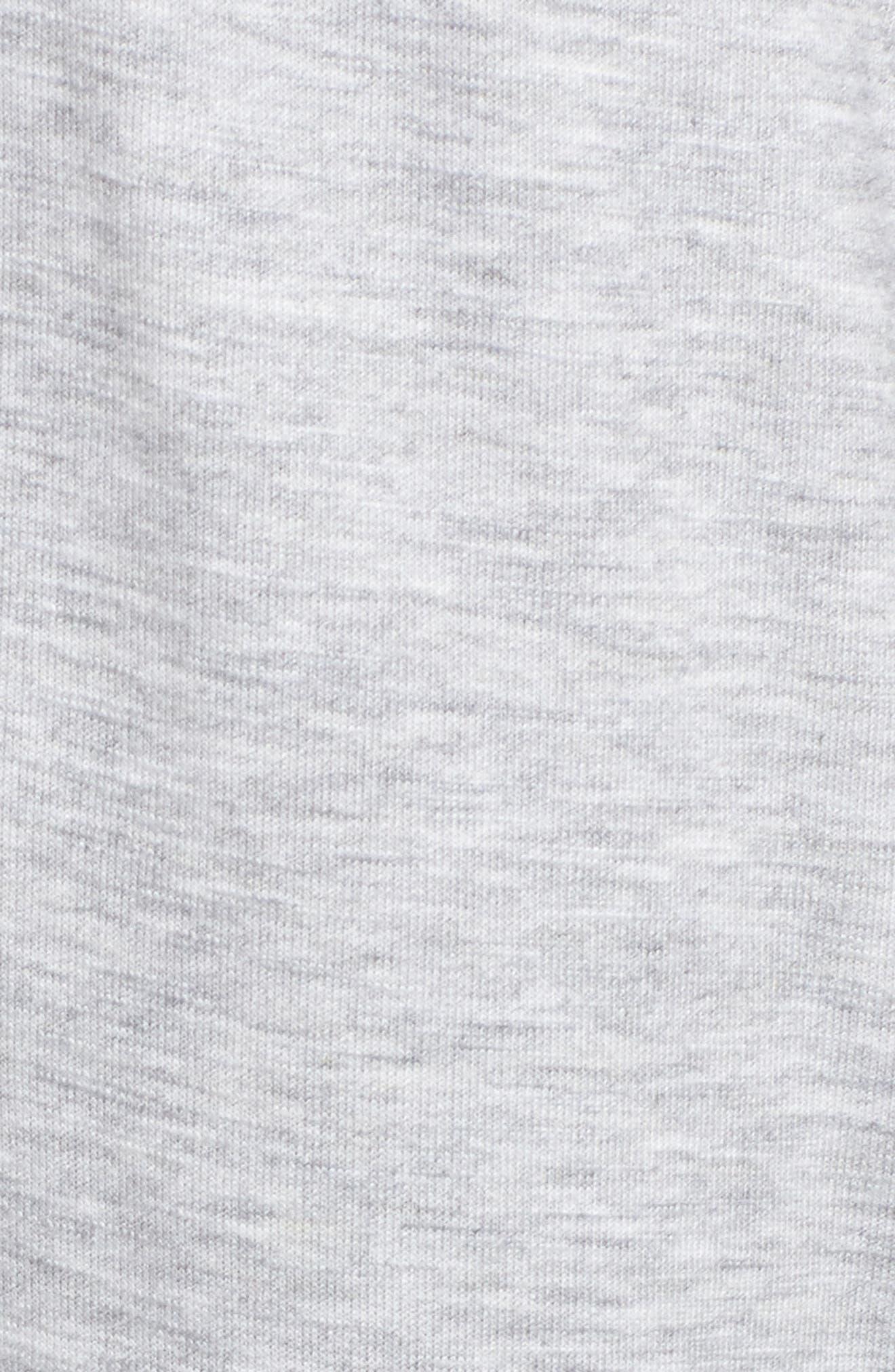 Dolphin Hem Sweatpants,                             Alternate thumbnail 5, color,                             030