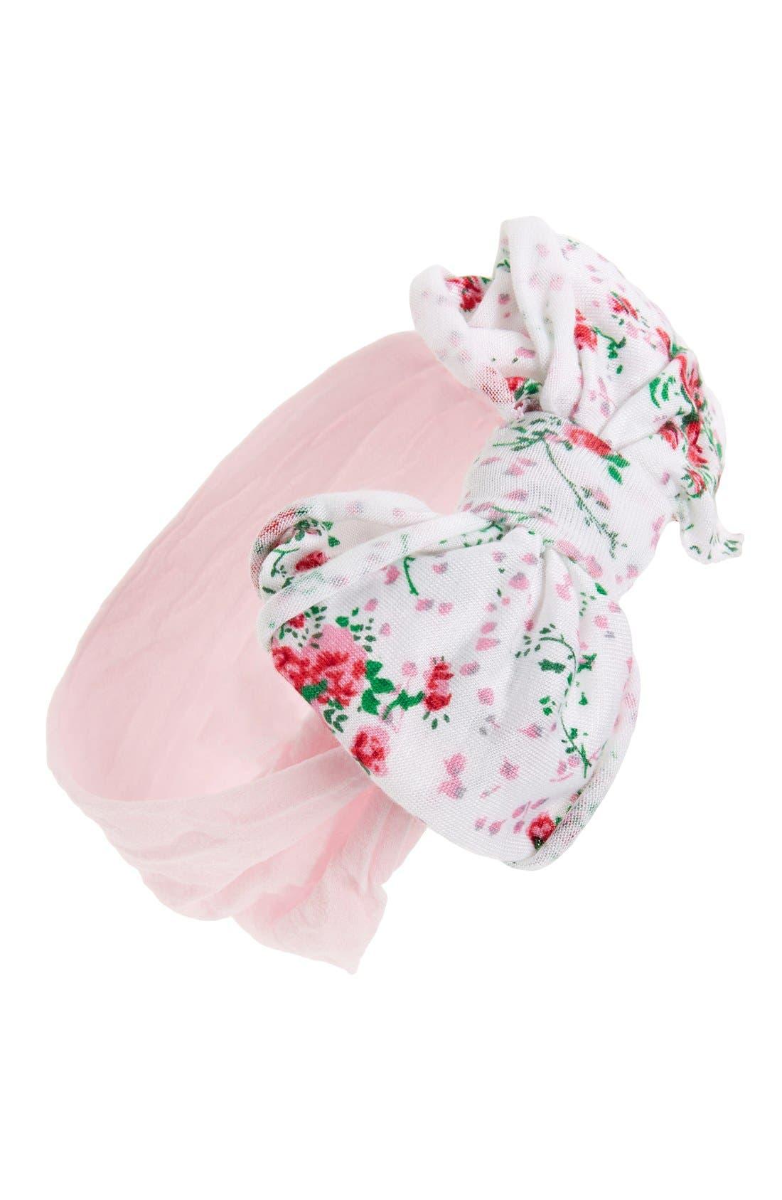 Jersey Bow Headband,                             Main thumbnail 12, color,