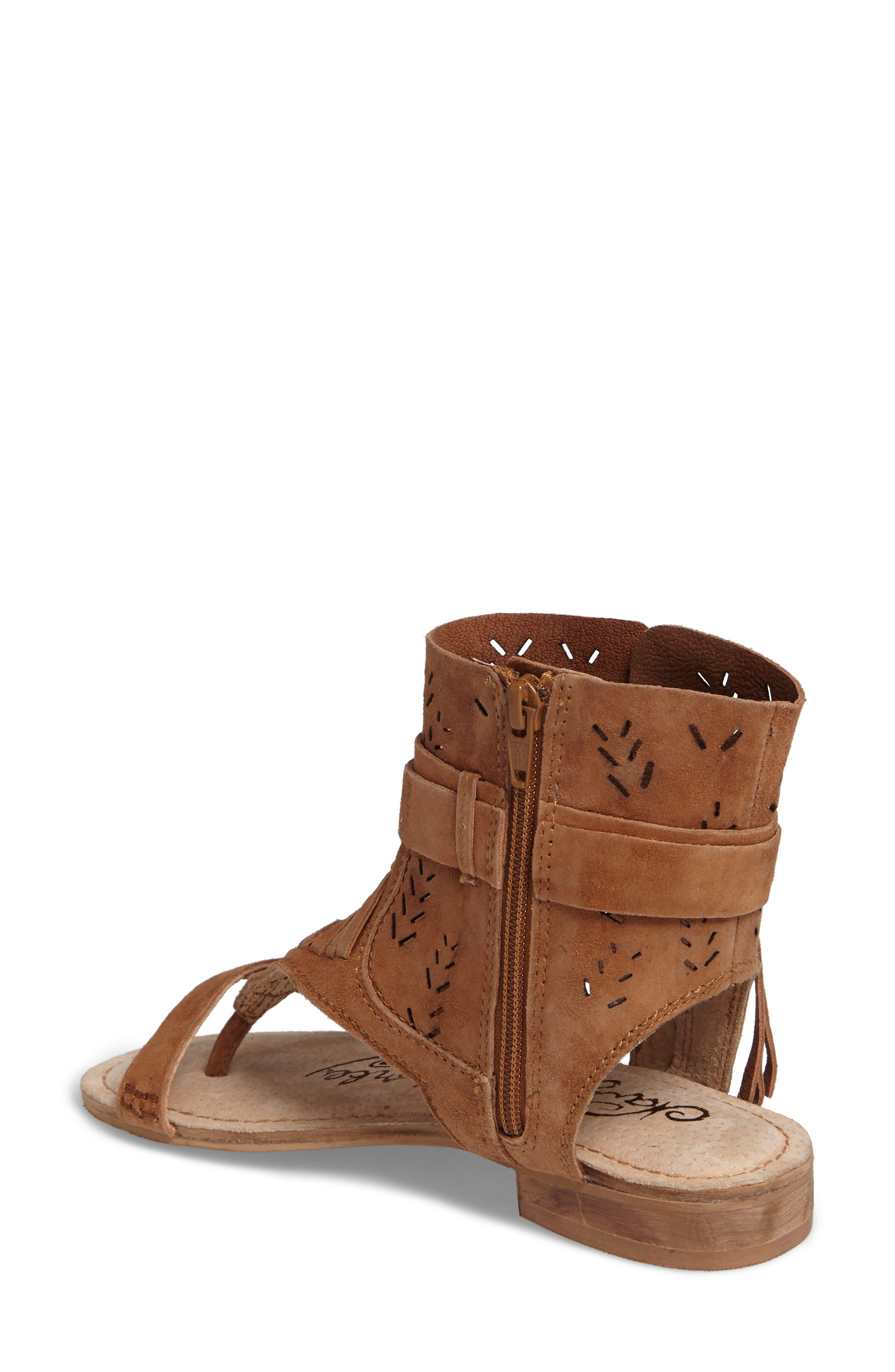 Cochise Flat Sandal,                             Alternate thumbnail 8, color,