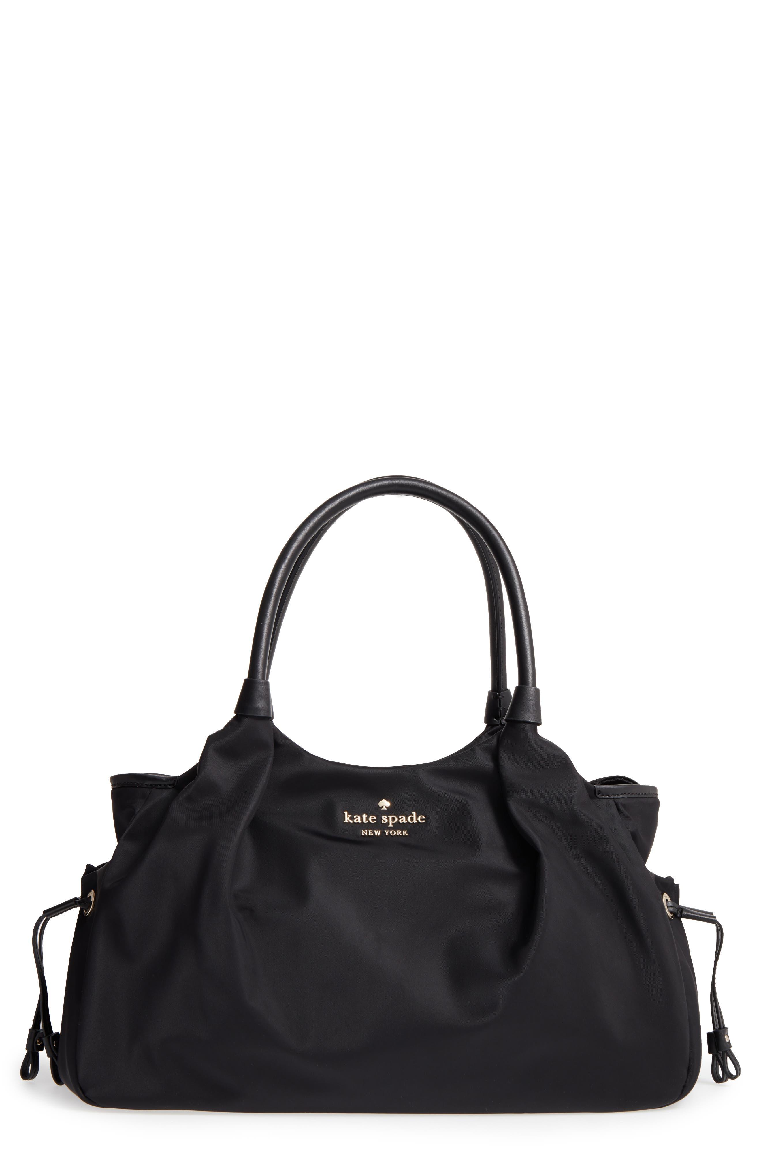 watson lane - stevie diaper bag,                         Main,                         color, BLACK