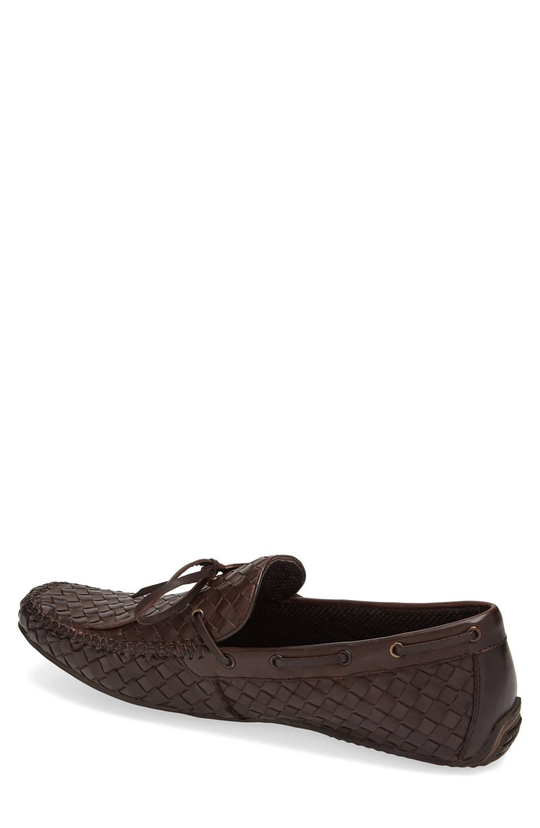 Leather Loafer,                             Alternate thumbnail 12, color,