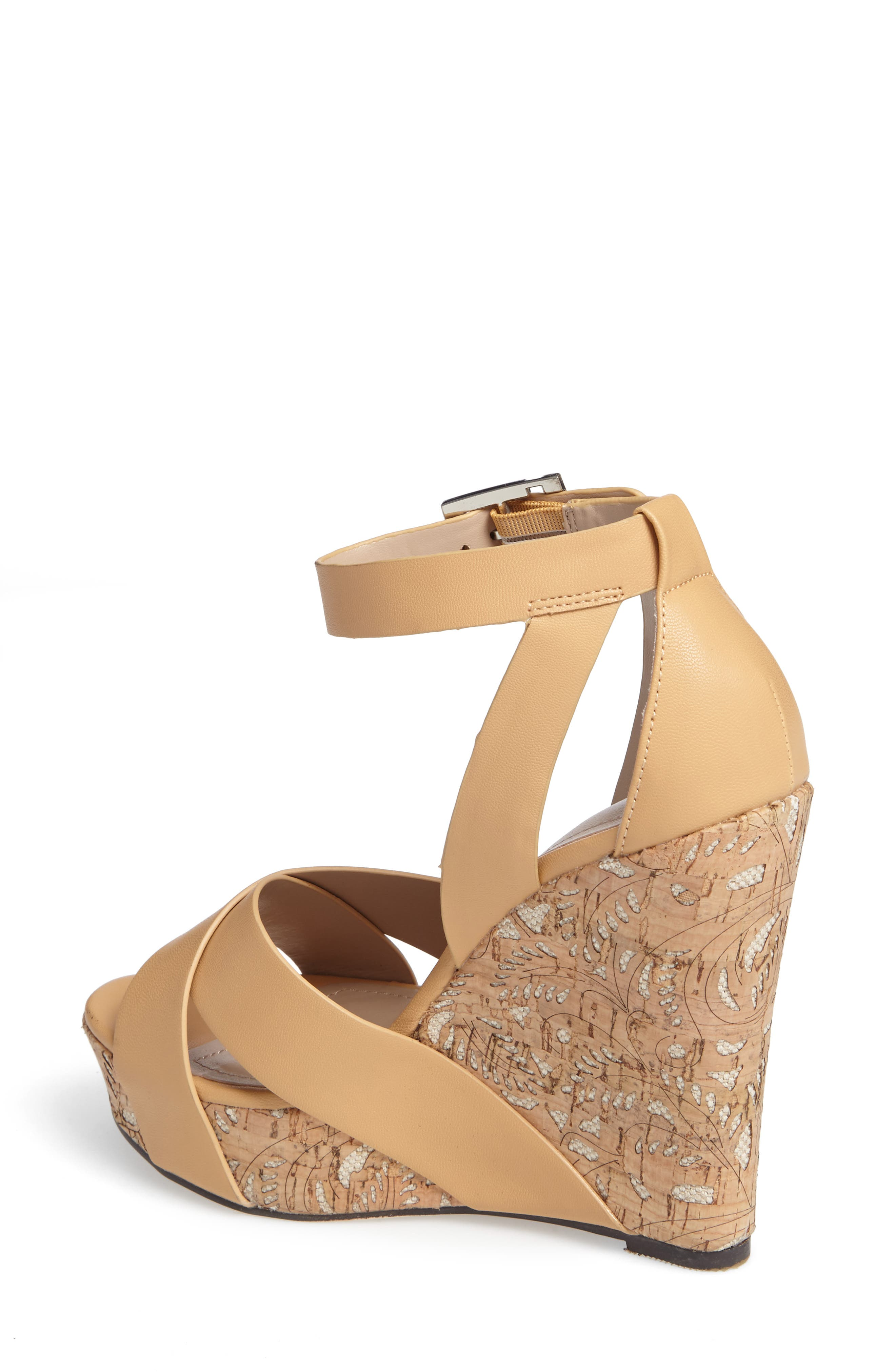 Amsterdam Platform Wedge Sandal,                             Alternate thumbnail 6, color,