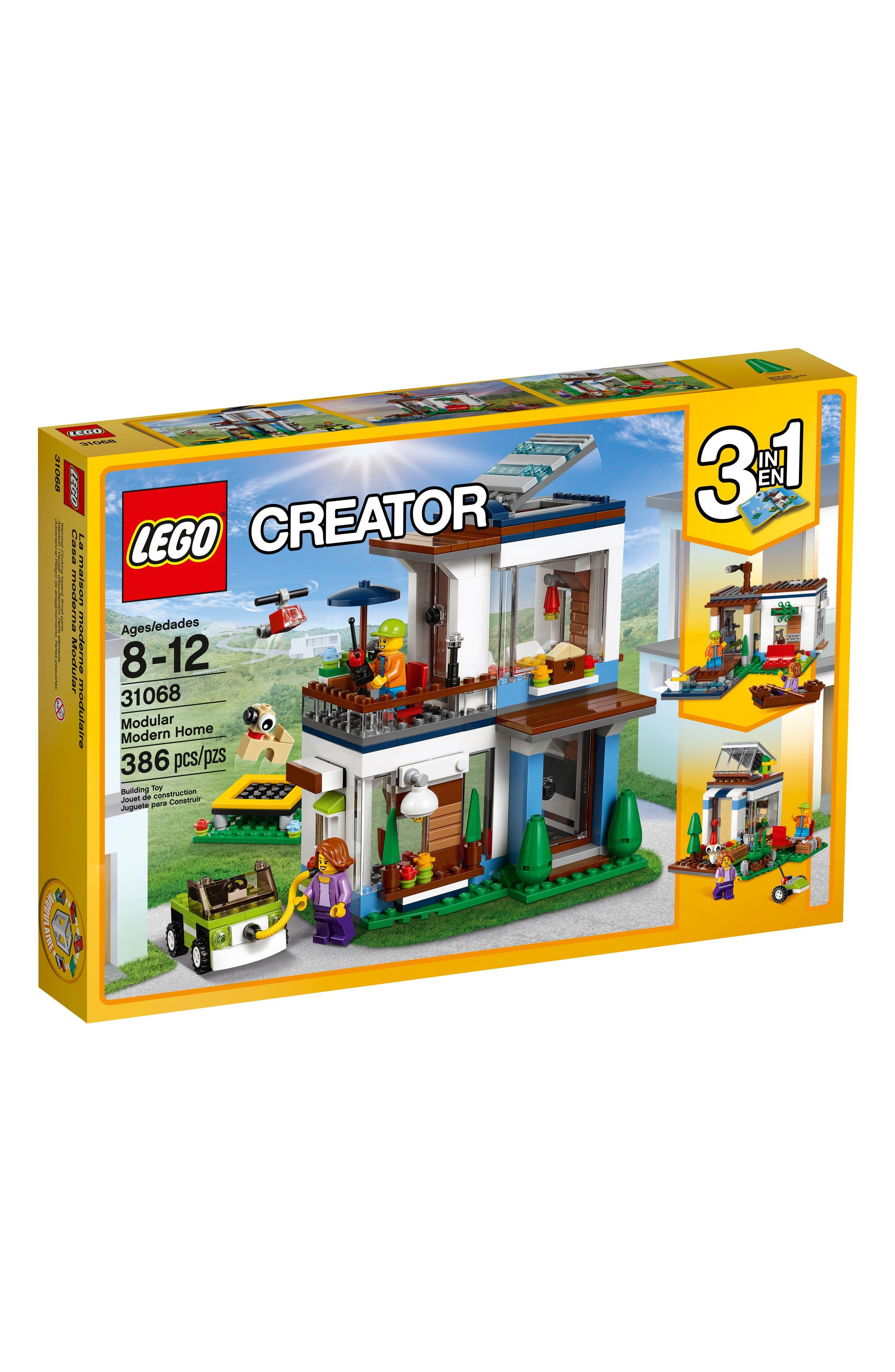 Creator 3-in-1 Modular Modern Home Play Set - 31068,                             Main thumbnail 1, color,