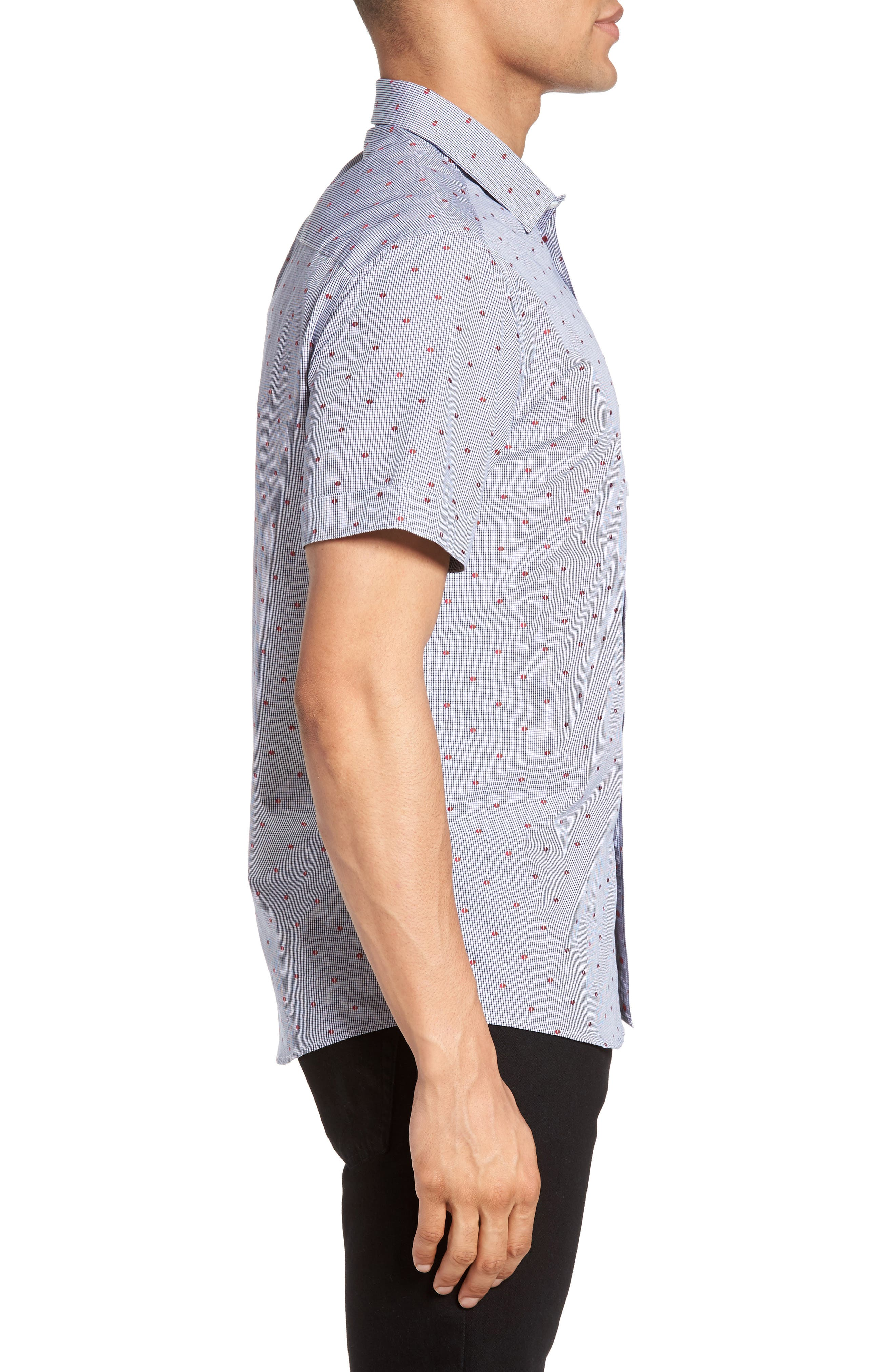 Short Sleeve Sport Shirt,                             Alternate thumbnail 4, color,                             230
