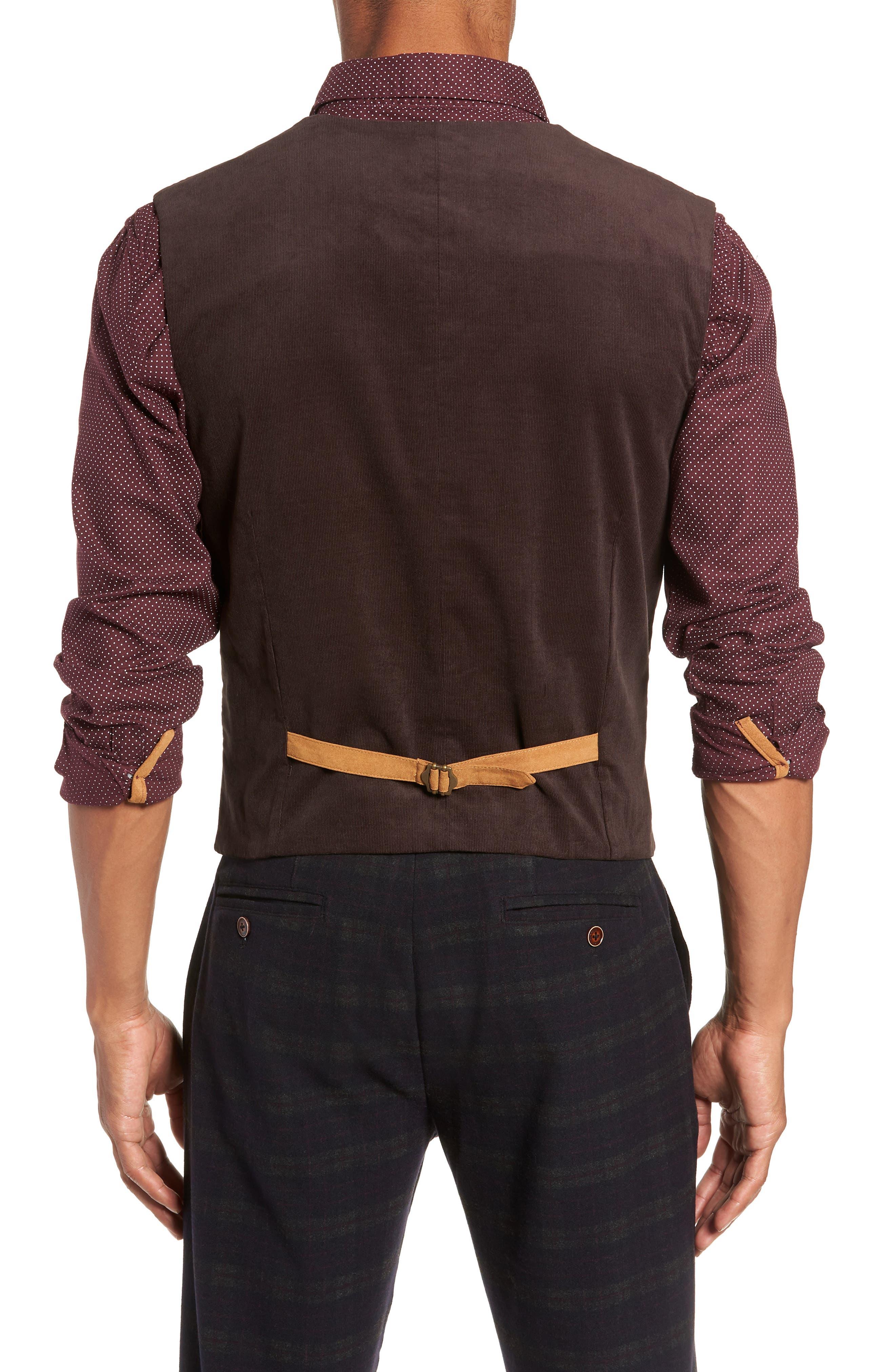 Albert Regular Fit Stretch Vest,                             Alternate thumbnail 2, color,                             401