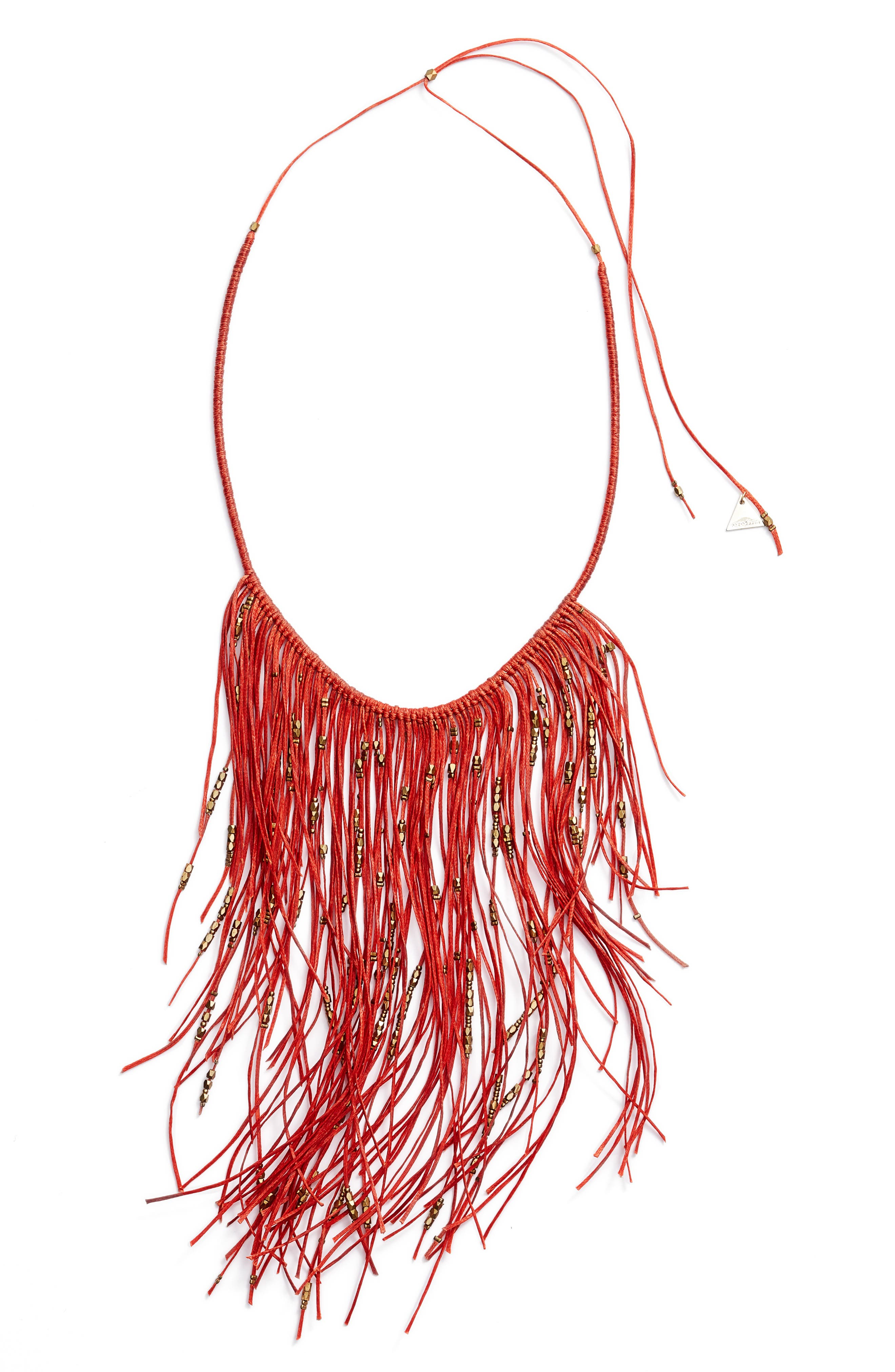 Glistening Fringe Necklace,                             Main thumbnail 1, color,                             650