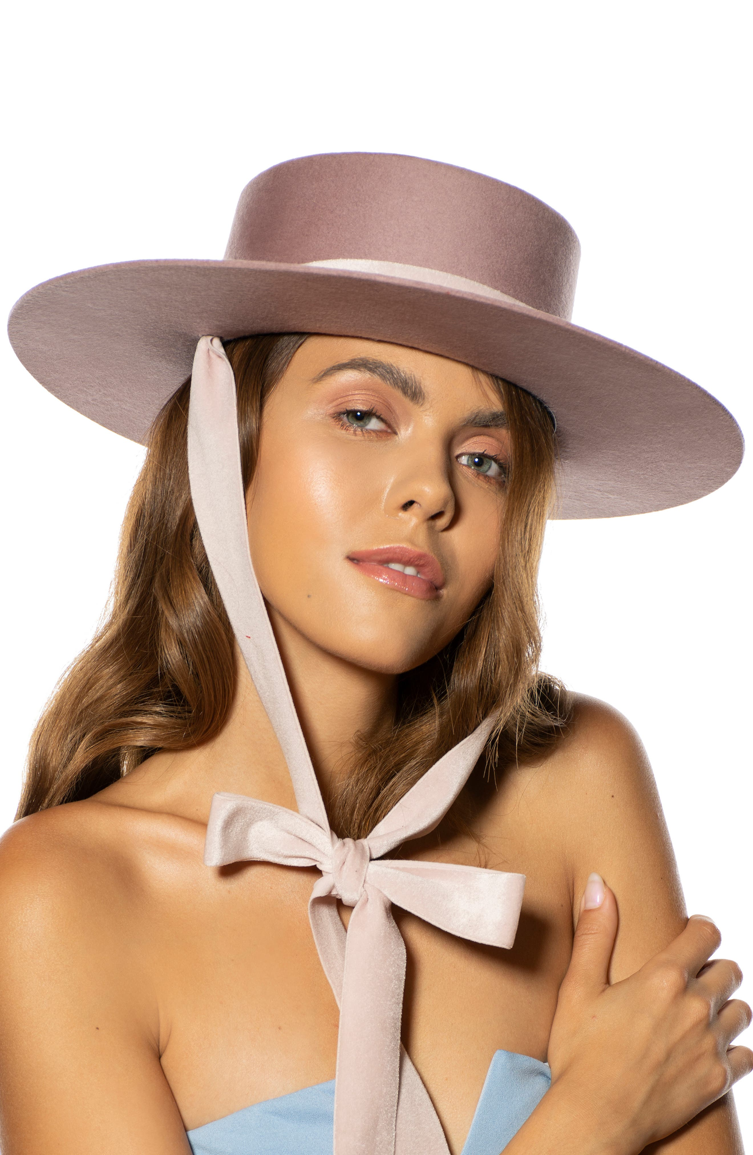 The Heiress Straw Bolero Hat,                             Alternate thumbnail 8, color,