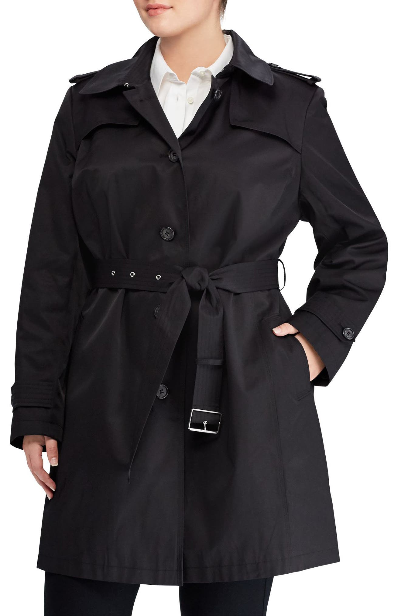Trench Coat,                             Main thumbnail 1, color,                             001