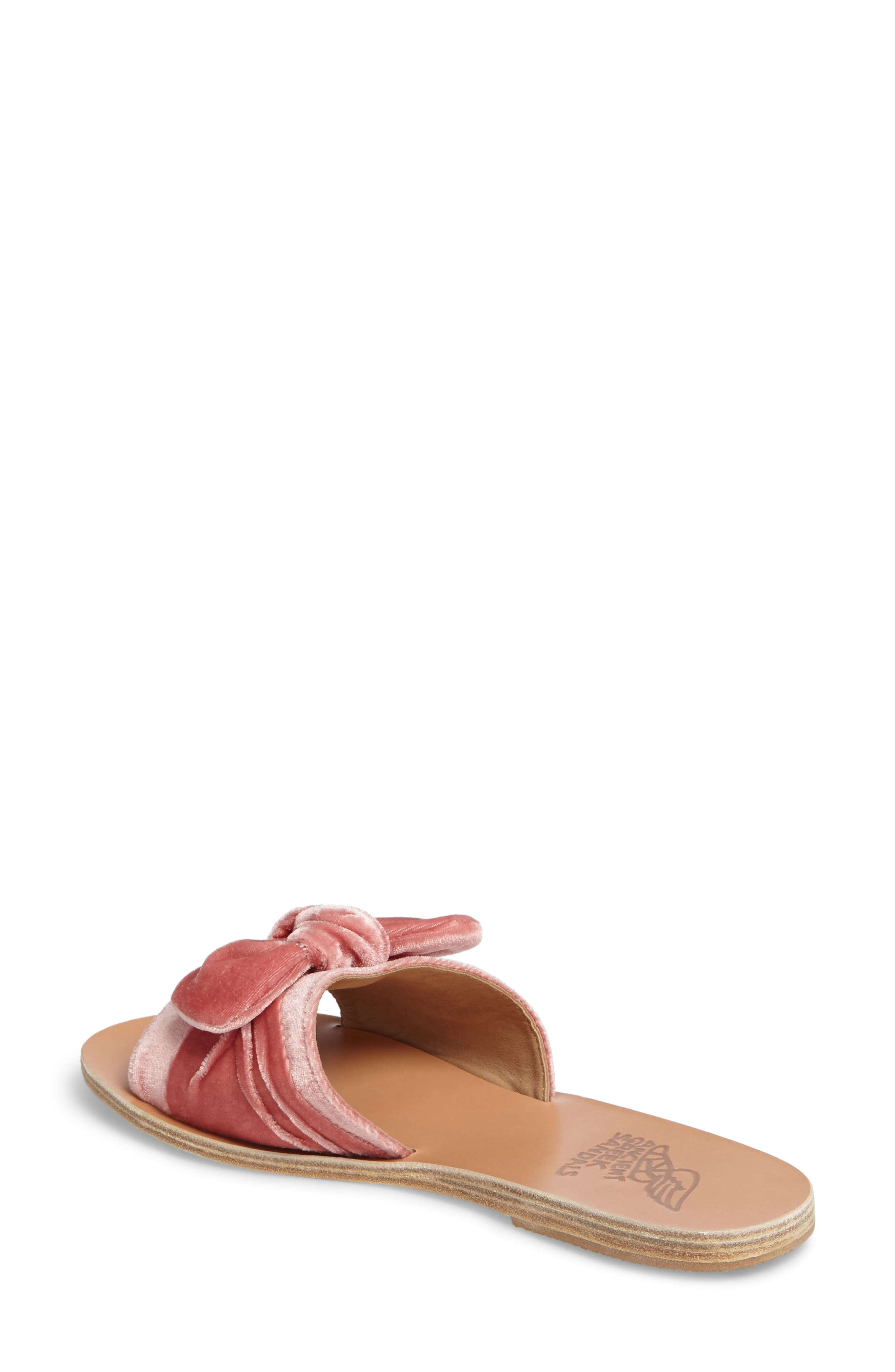 Taygete Bow Slide Sandal,                             Alternate thumbnail 7, color,